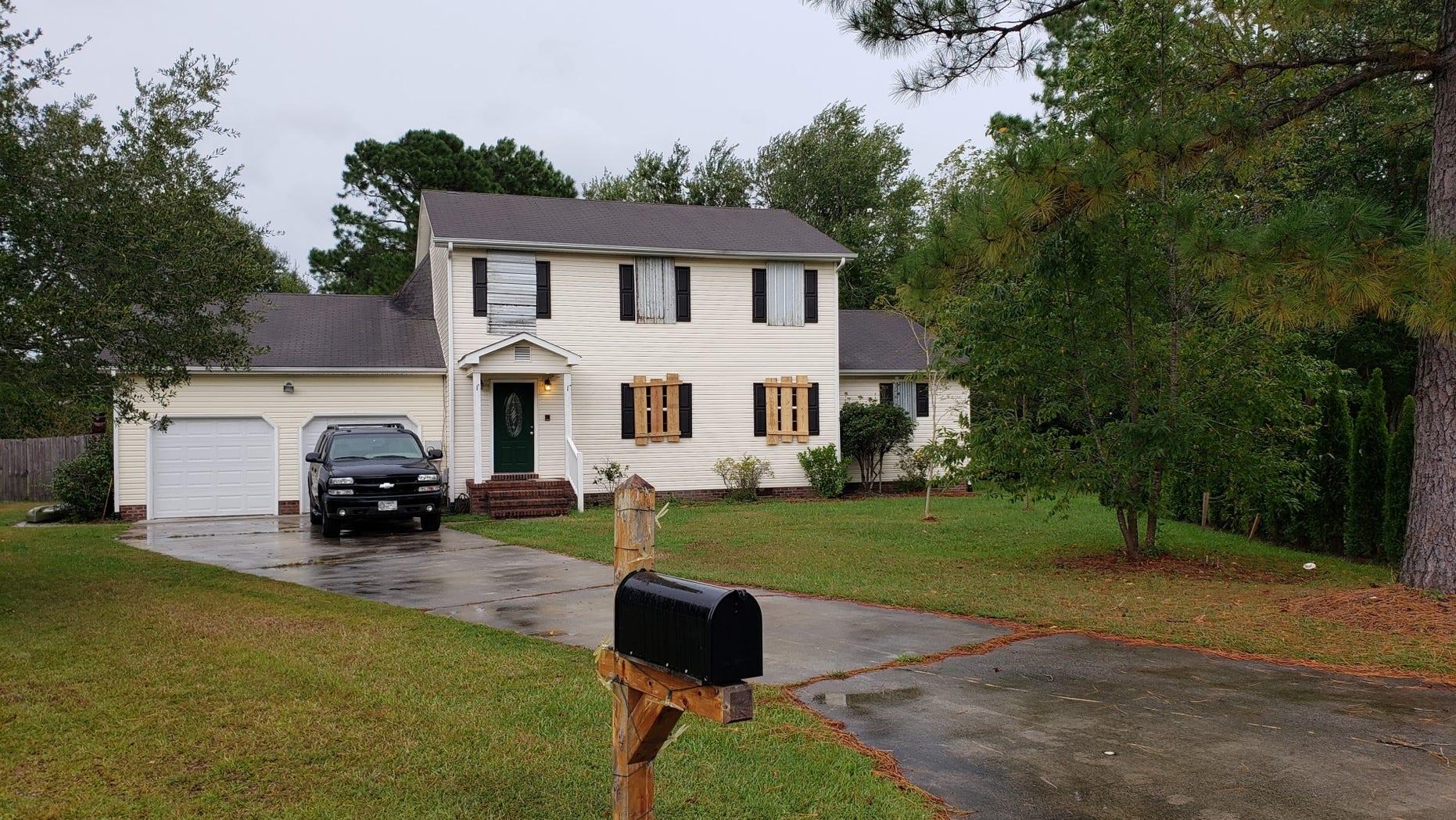 Jeremy's home in Wilmington, North Carolina.