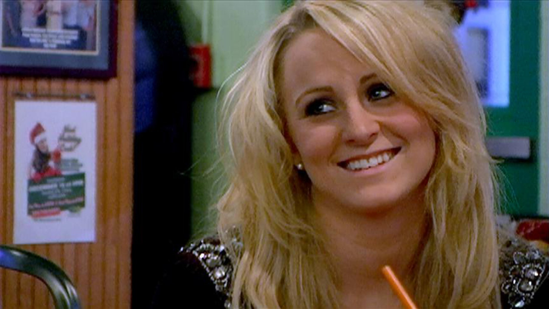 """Leah Messer in a scene of MTV's """"Teen Mom 2."""""""