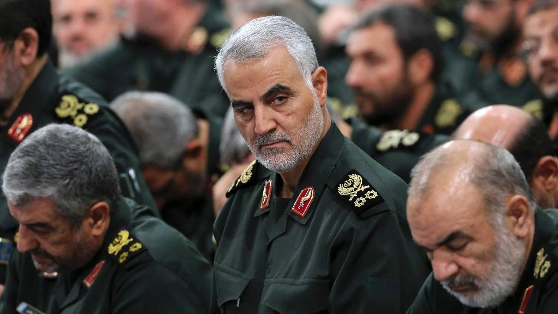 Westlake Legal Group 20ee97f1c7f248f28791fb93a9f40df9 The master behind the mask: who is Iran's most feared and powerful military commander? Hollie McKay fox-news/world/terrorism fox-news/world/conflicts/iran fox-news/world fox-news/us/terror/counter-terrorism fox news fnc/world fnc article 79e4224c-fb79-5317-9c67-33ef669ac755