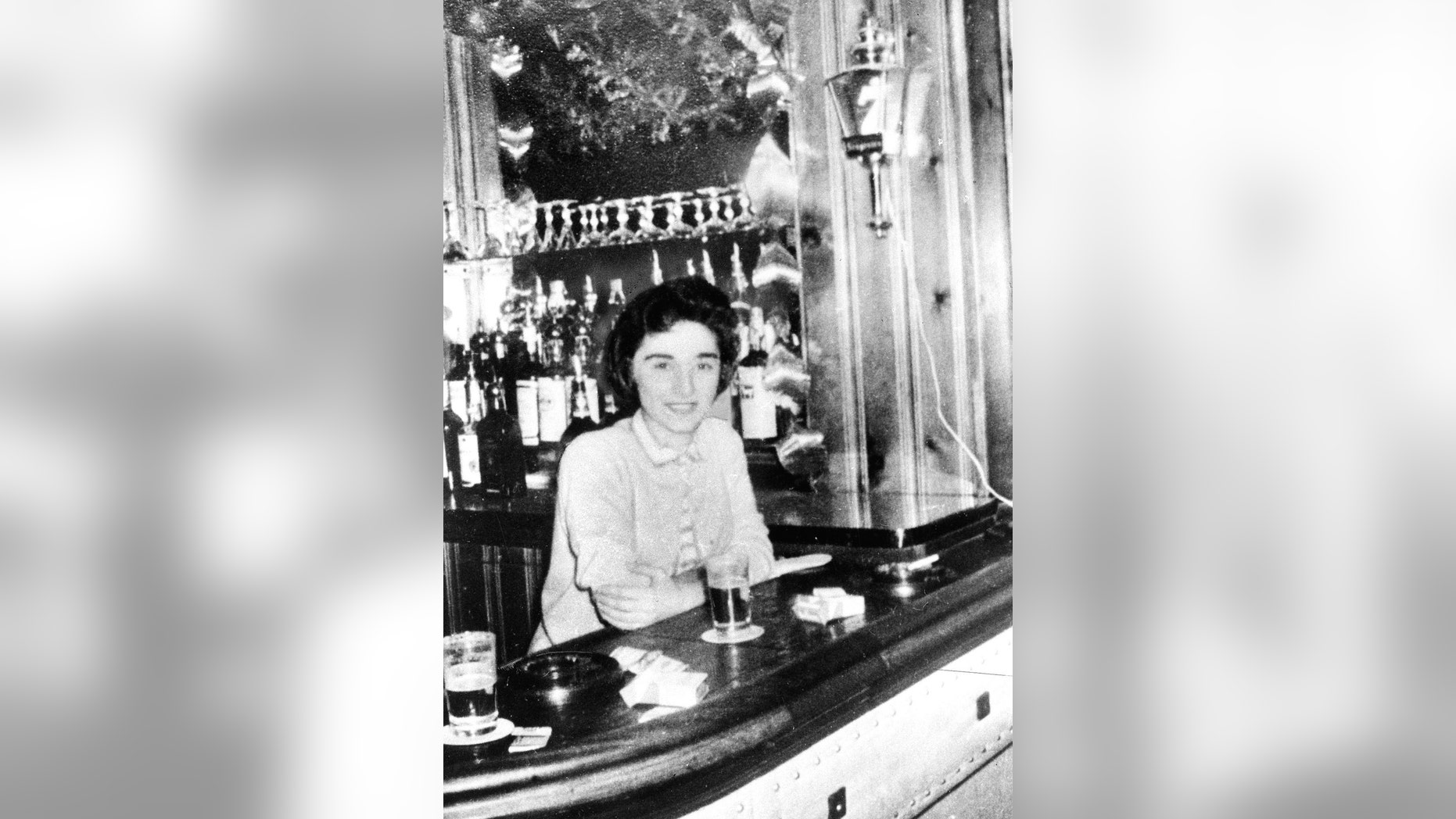 """FILE- In this undated file photo, Catherine """"Kitty"""" Genovese is shown. Genovese, a bar manager, was stabbed to death in March 1964 as she returned home to the Kew Gardens section of Queens, New York at 3:20 a.m. On Friday, Nov. 15, 2013, Genovese's killer, Winston Mosley, was denied parole for the 16th time by New York State Corrections officials. (AP Photo/New York Daily News, File) NO SALES MAGS OUT"""