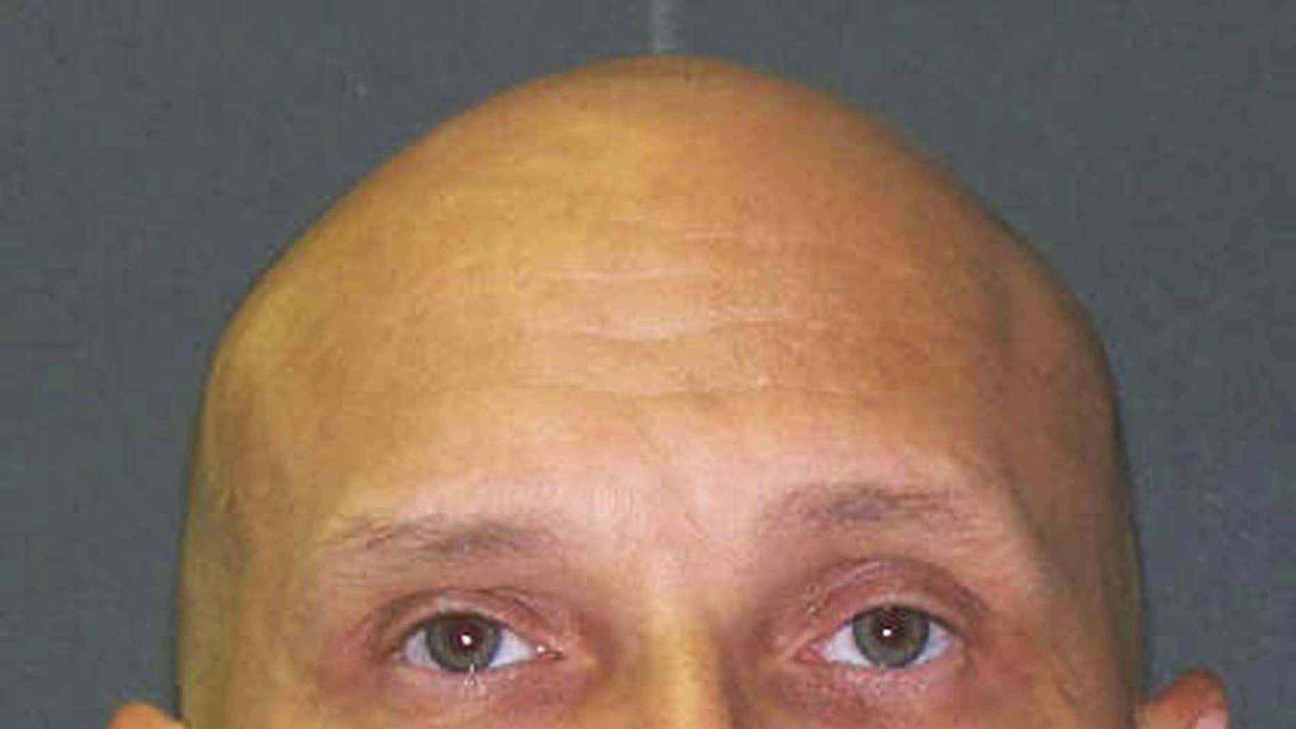 Foto sin fecha distribuida por el Departamento de Justicia Criminal de Texas, del condenado a muerte Christopher Wilkins, cuya ejecución está prevista para el miércoles 11 de enero de 2017. (Texas Department of Criminal Justice via AP)