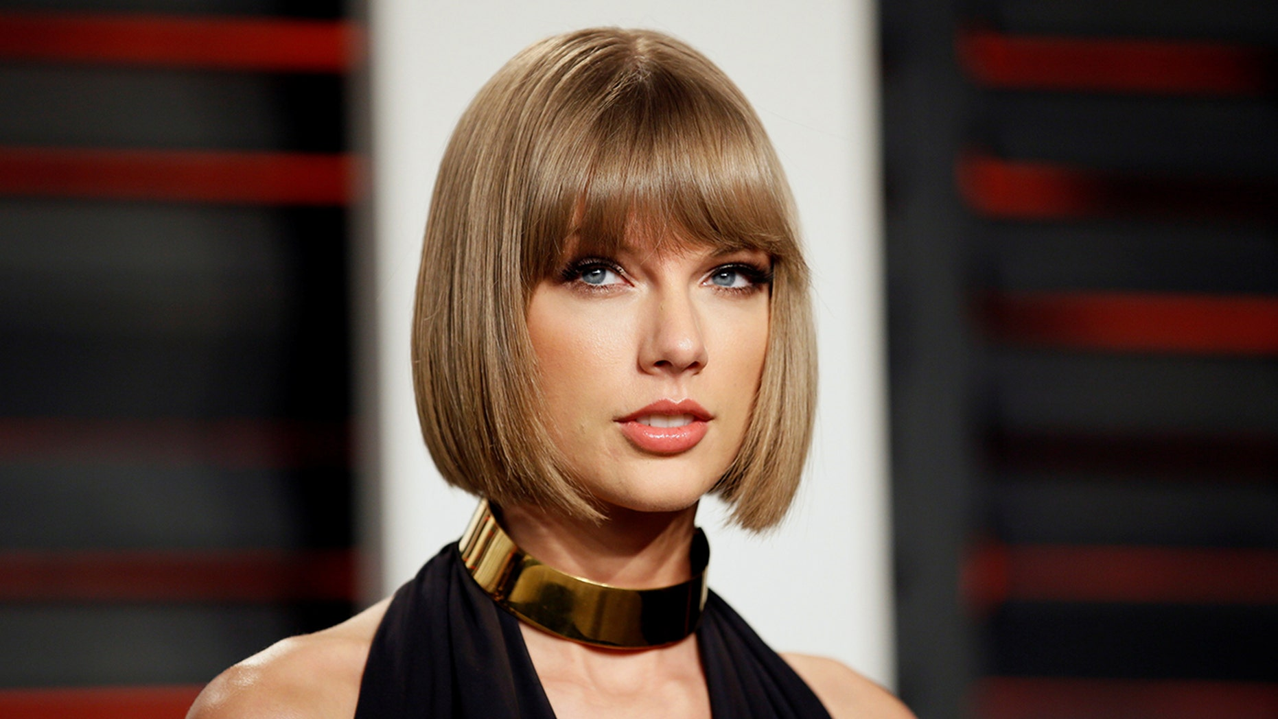 The radio DJ who groped Taylor Swift, pictured, is back behind the mic.