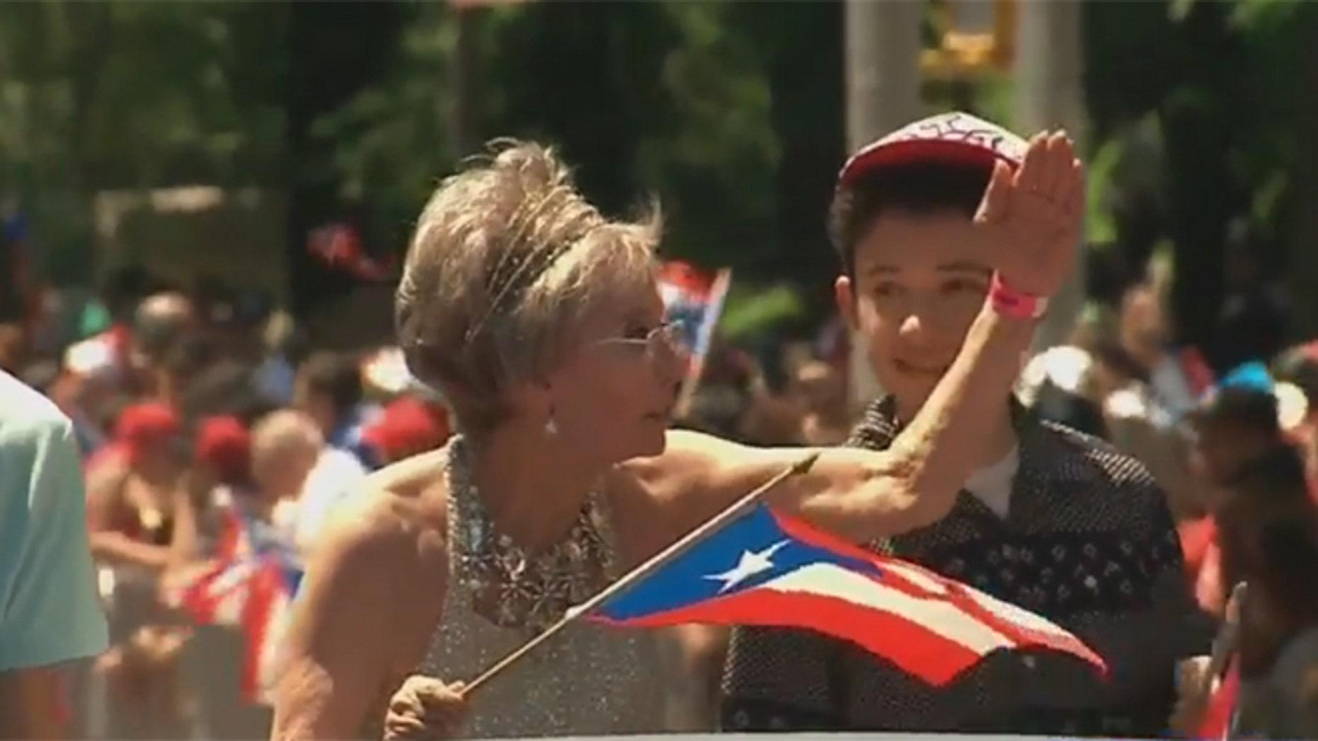 Rita Moreno. (Source: Screen shot via WABC-TV)