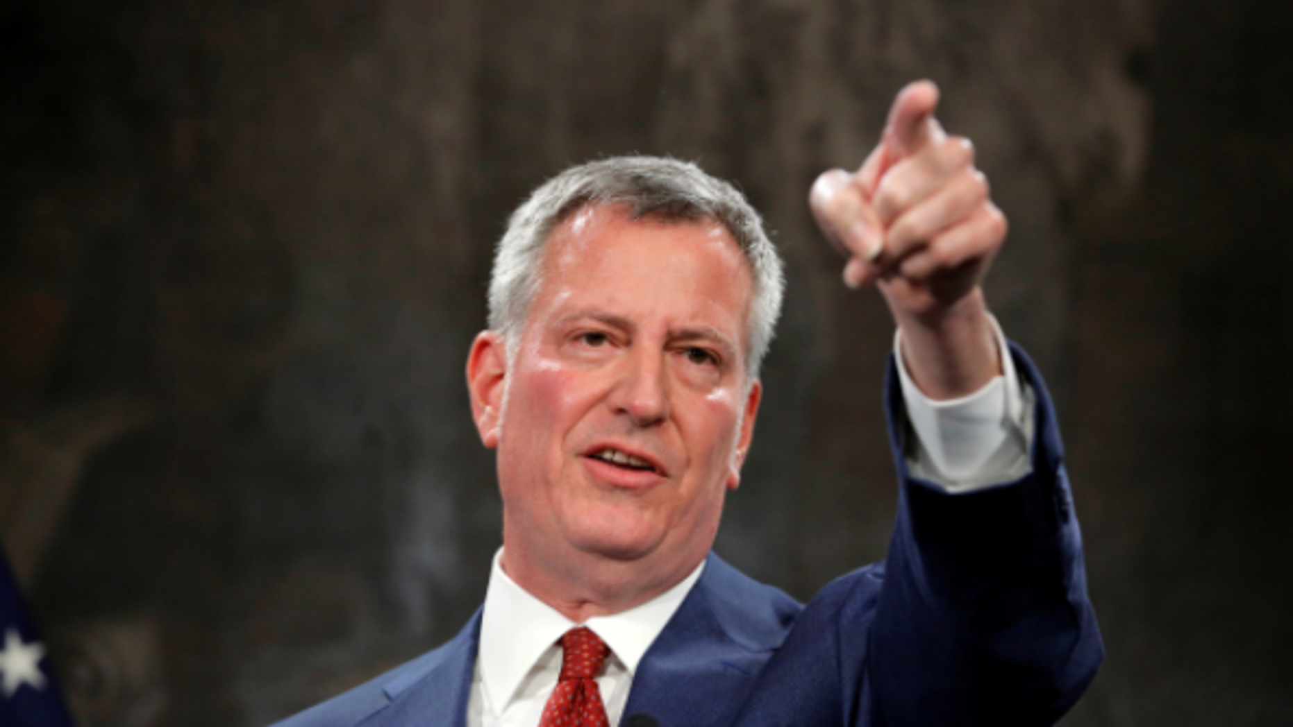 NYC Mayor Bill de Blasio used personal email for city business, according to a new report.