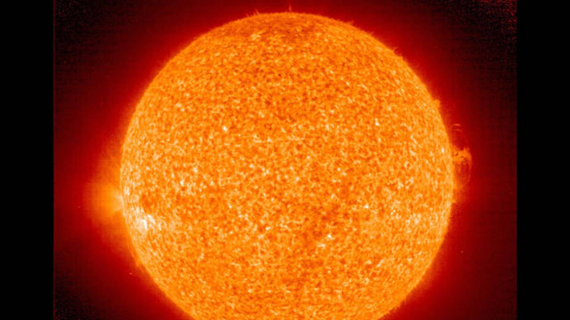 This image provided by NASA shows the latest image of the Sun taken July 24, 2007. NASA scientists are keeping a close eye on the sun. It is almost spotless, a sign that the Sun may have reached solar minimum. Scientists are now watching for the first spot of the new solar cycle to appear. The 11 year long solar cycle is marked by two extremes, solar minimum and solar maximum. Solar minimum is the period of least solar activity in the solar cycle of the sun. During this time sunspot and solar flare activity diminishes, and often does not occur for days at a time. (AP Photo/NASA)