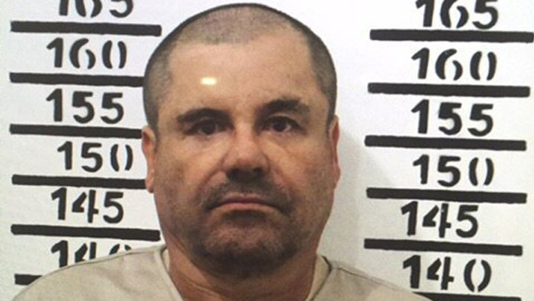 Joaquin 'El Chapo' Guzman in a Jan. 8, 2016 image released by Mexico's federal government.