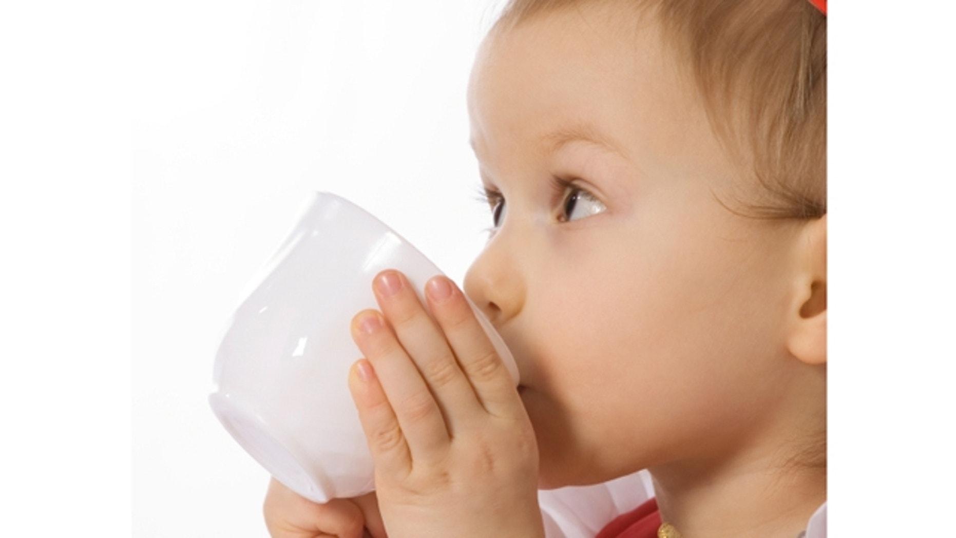 drinking baby