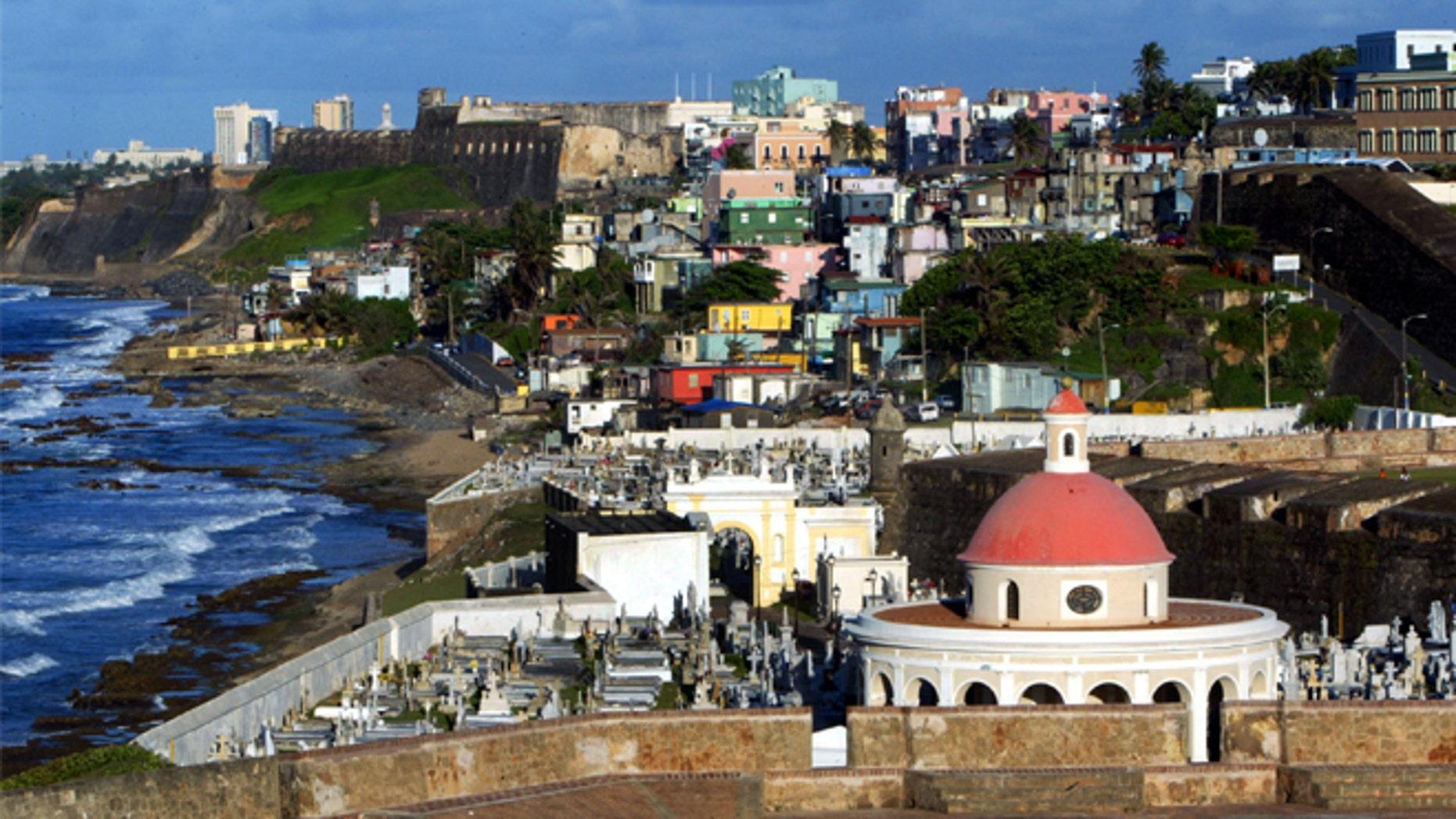 San Juan, Puerto Rico. (Photo: Getty images)