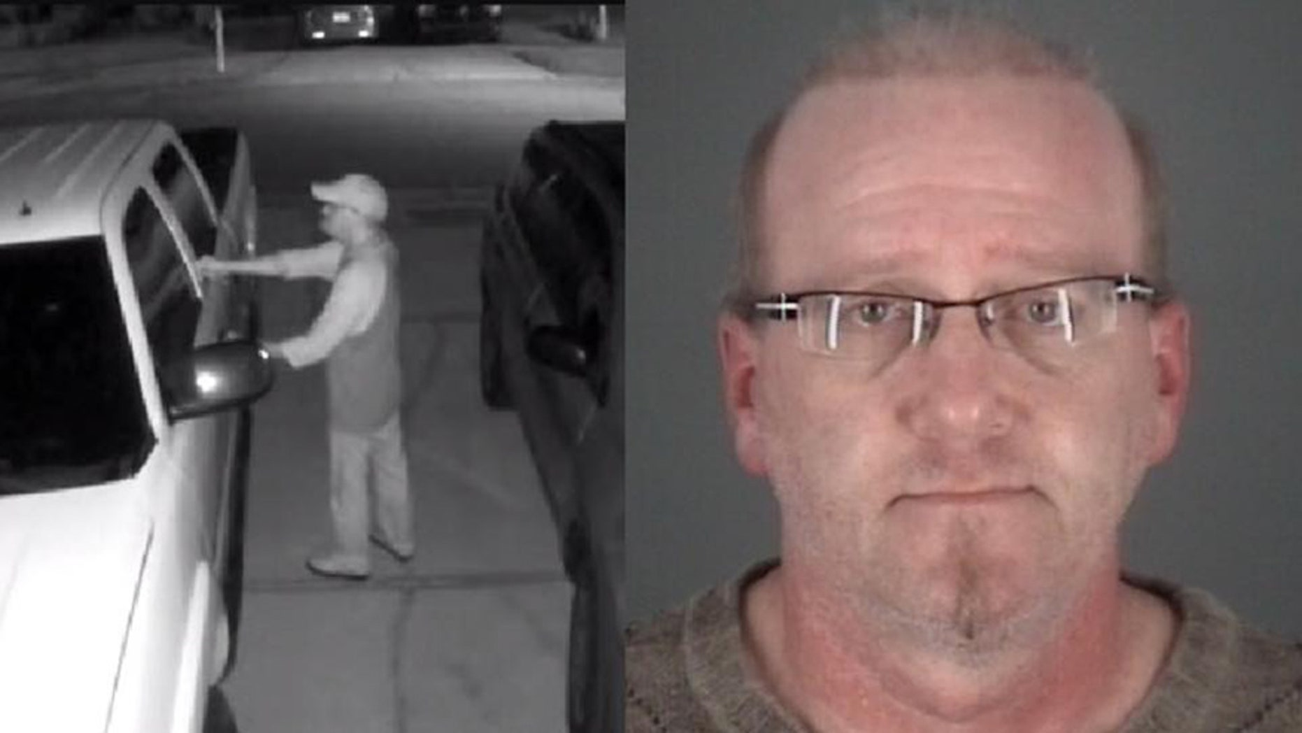 Stephen Titlan, 49, tried to burglarize a vehicle that was full of cops in Tampa, officials said.