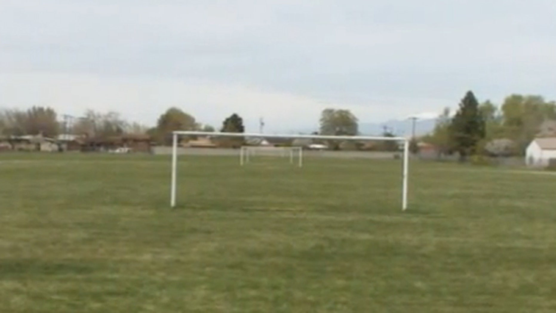 The 46-year-old man was injured Saturday morning while officiating a game being played in the fields behind Eisenhower Jr. High, just outside Salt Lake City.