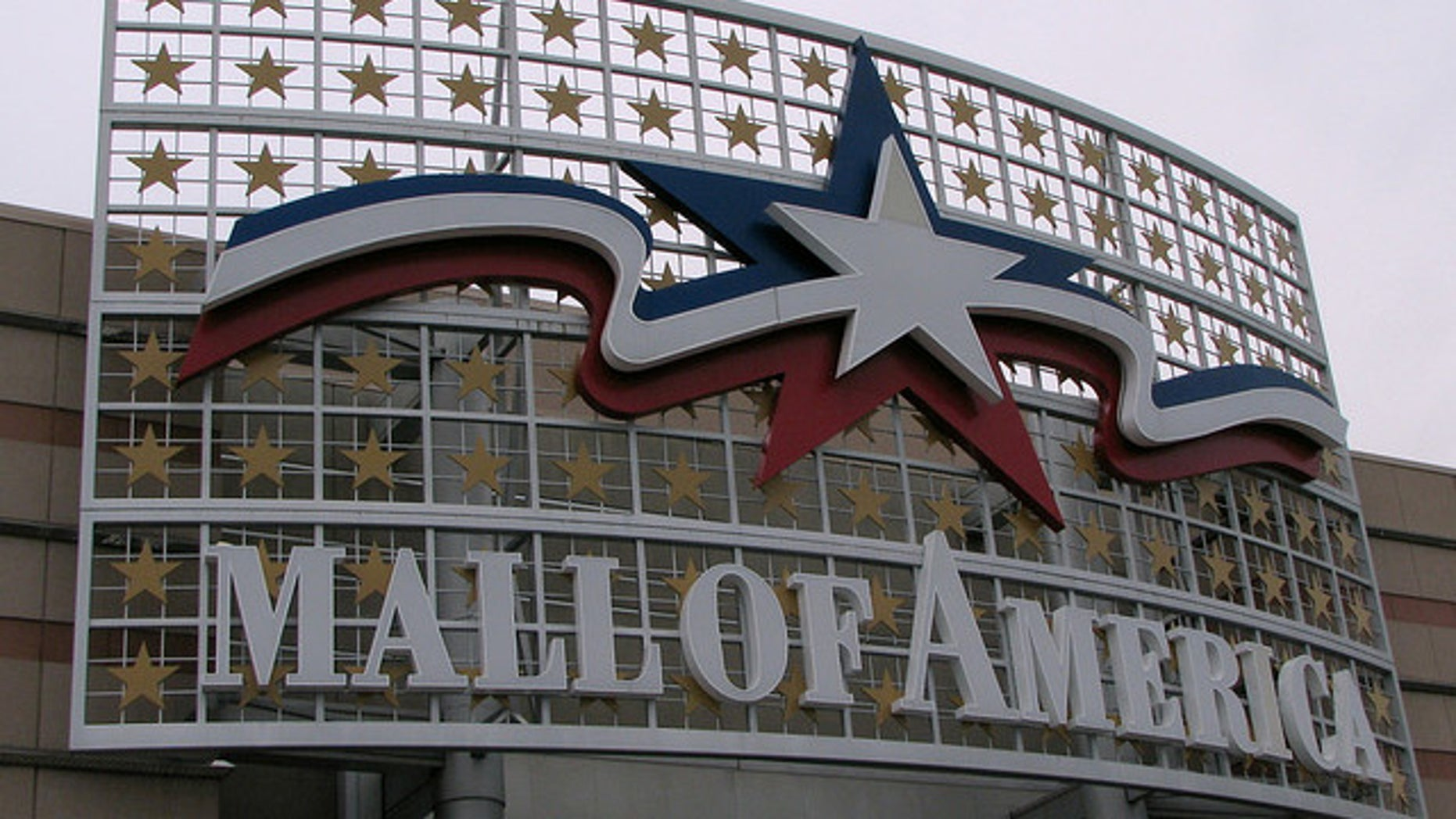 The exterior of the Mall of America in Bloomington, Minn. (MyFoxTwinCities.com)