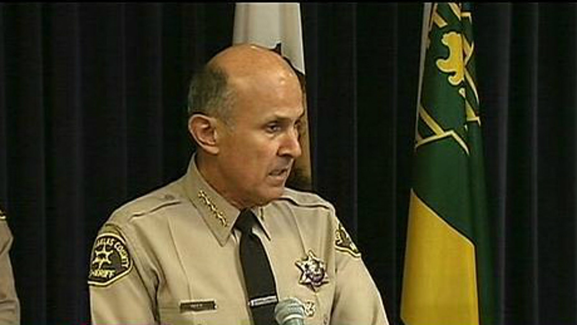 Los Angeles County Sheriff Lee Baca (MyFoxLA.com)