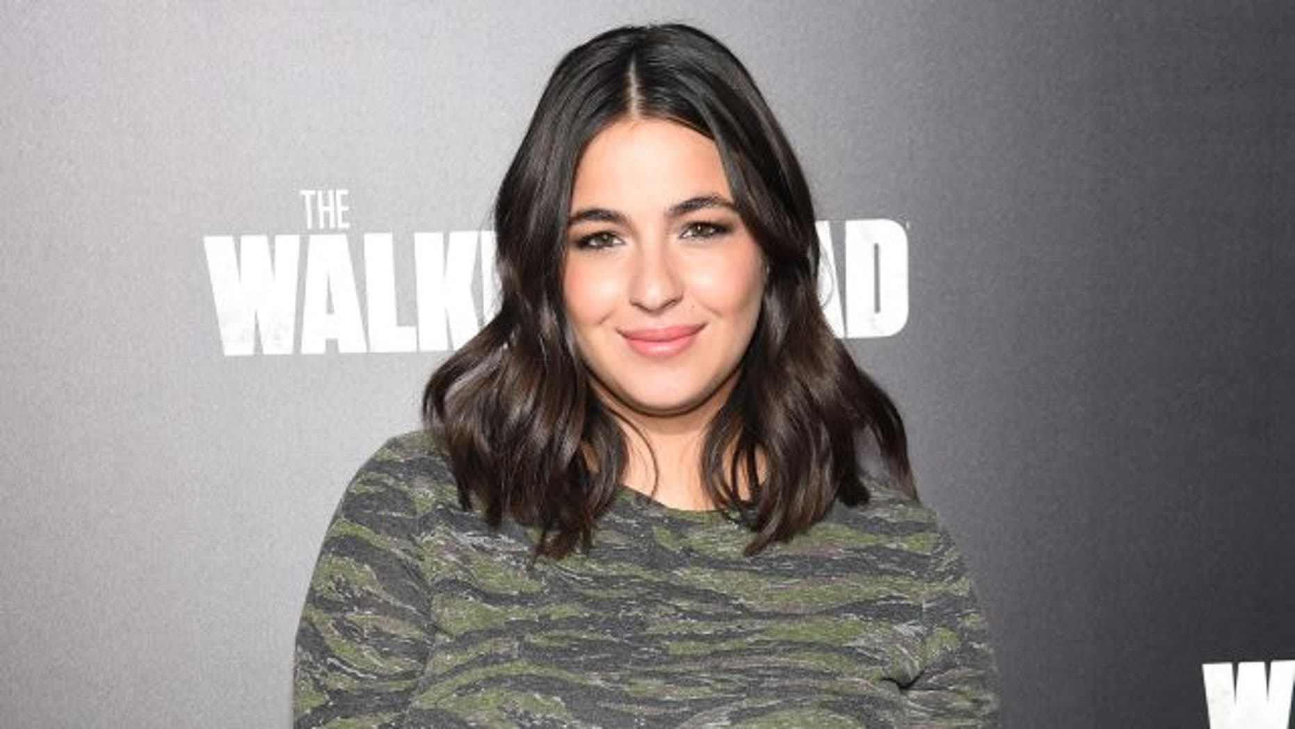 'The Walking Dead' star Alanna Masterson has slammed body shamers.