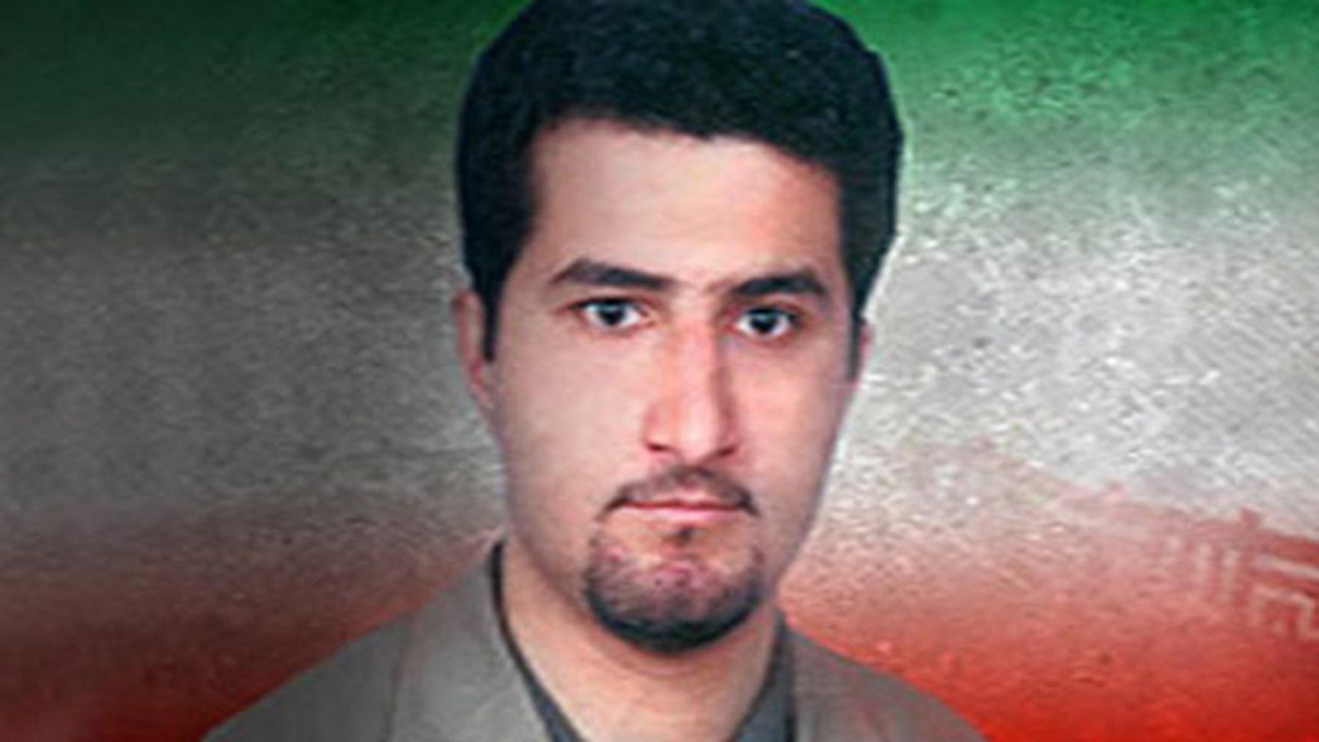 Iranian scientist Shahram Amiri