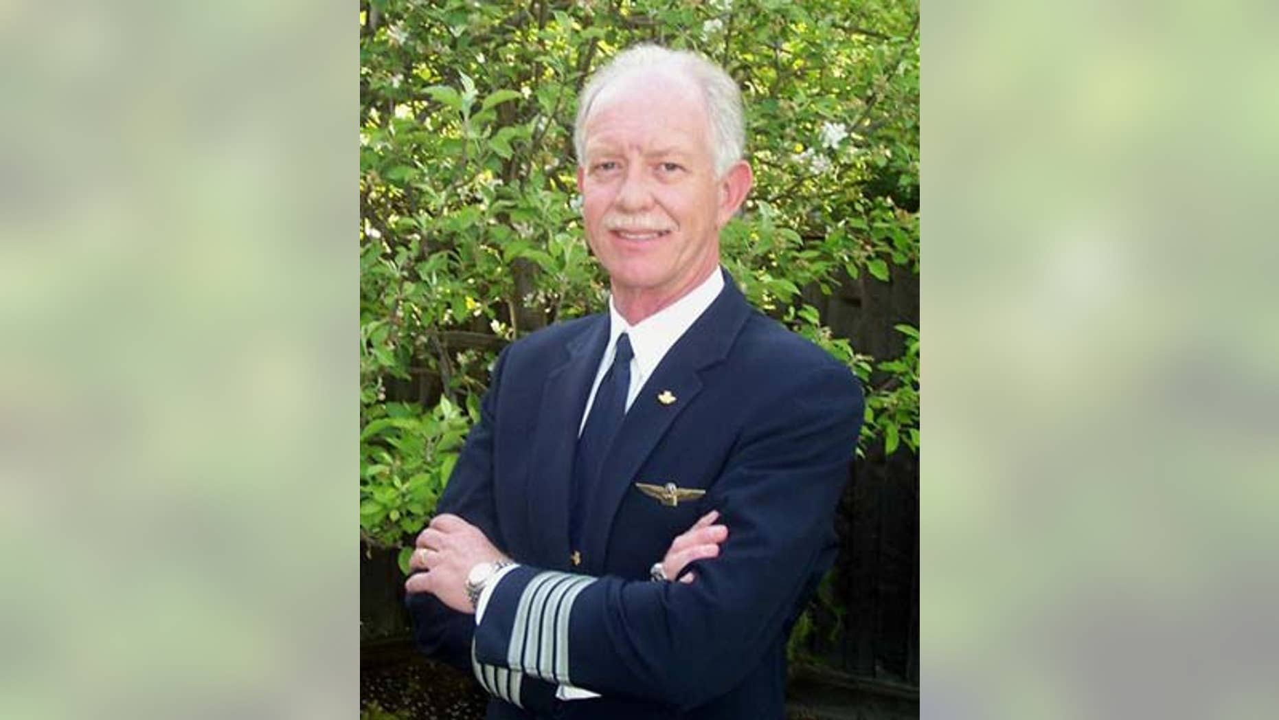 "US Airways pilot Chesley B. Sullenberger III. Sullenberger is a finalist for the ""Robert Goulet Memorial Mustached American of the Year."""
