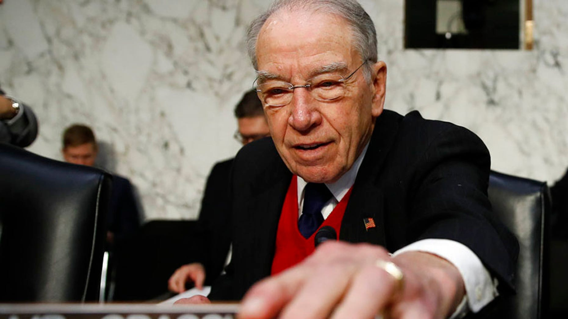 Senate Judiciary Committee Chairman Chuck Grassley, R-Iowa, called Wednesday for the founders of Fusion GPS to testify in public.