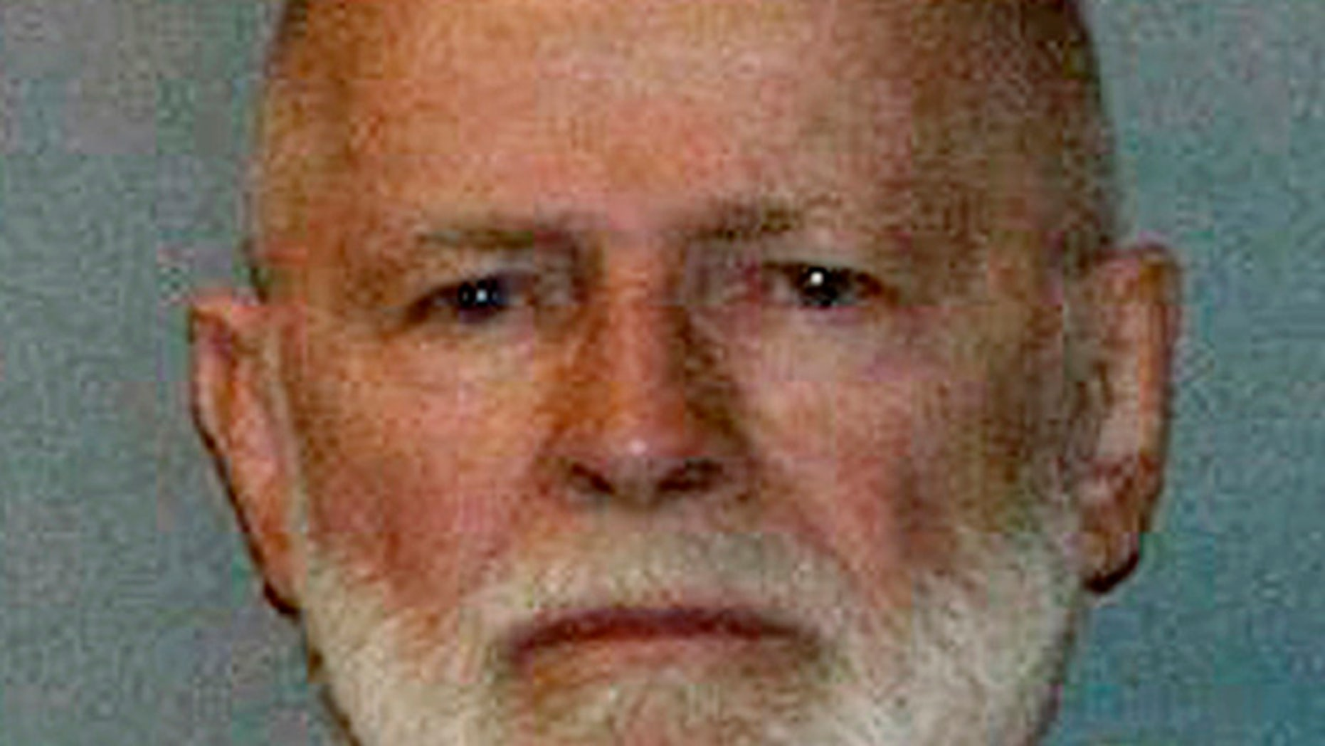 "James ""Whitey"" Bulger's booking photo."