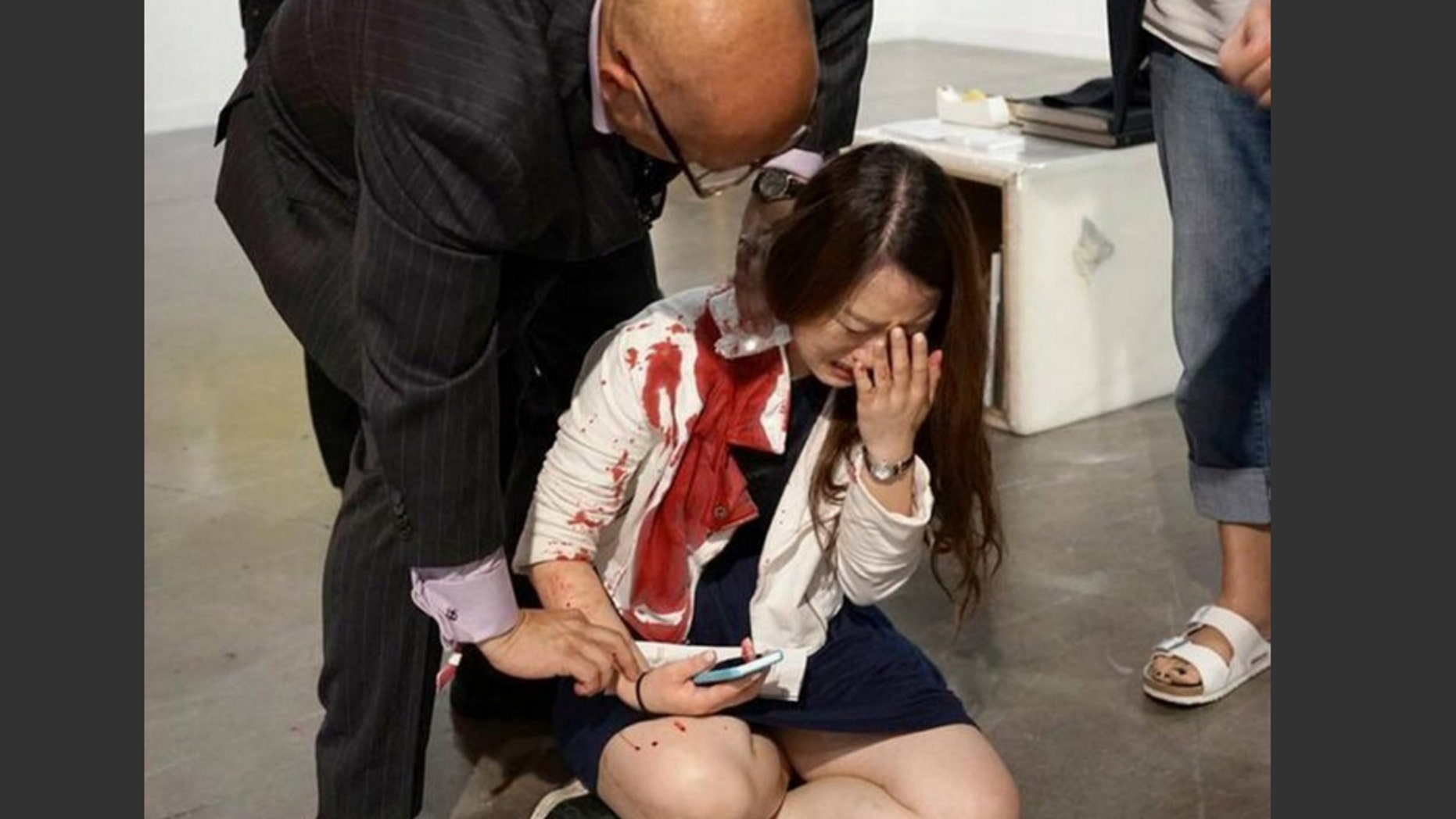 Dec 4. Woman stabbed at Art Basel show in Miami.