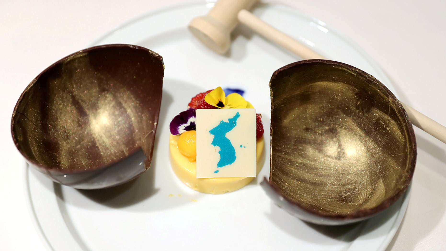 "Japan is angry over the ""Spring of the People"" mango mousse to be served at the North Korea summit."