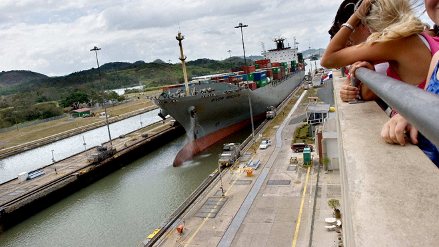 February 2005. Panama Canal, Panama.  (Photo by Javier Teniente/Cover/Getty Images)