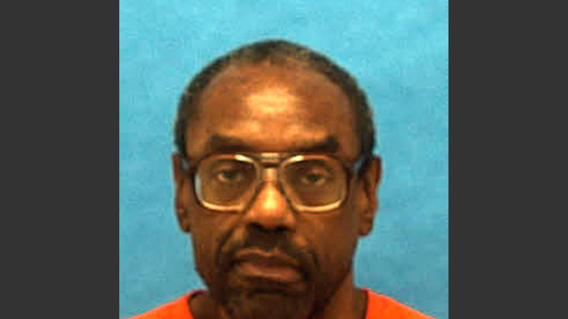 FILE - This undated file photo provided by the Florida Department of Corrections shows inmate Askari Abdullah Muhammad, previously known as Thomas Knight, convicted of abducting and killing a Miami couple and later stabbing a prison guard to death. Muhammad is scheduled to die by lethal injection, Tuesday, Jan. 7, 2014. (AP Photo/Florida Department of Corrections, File)