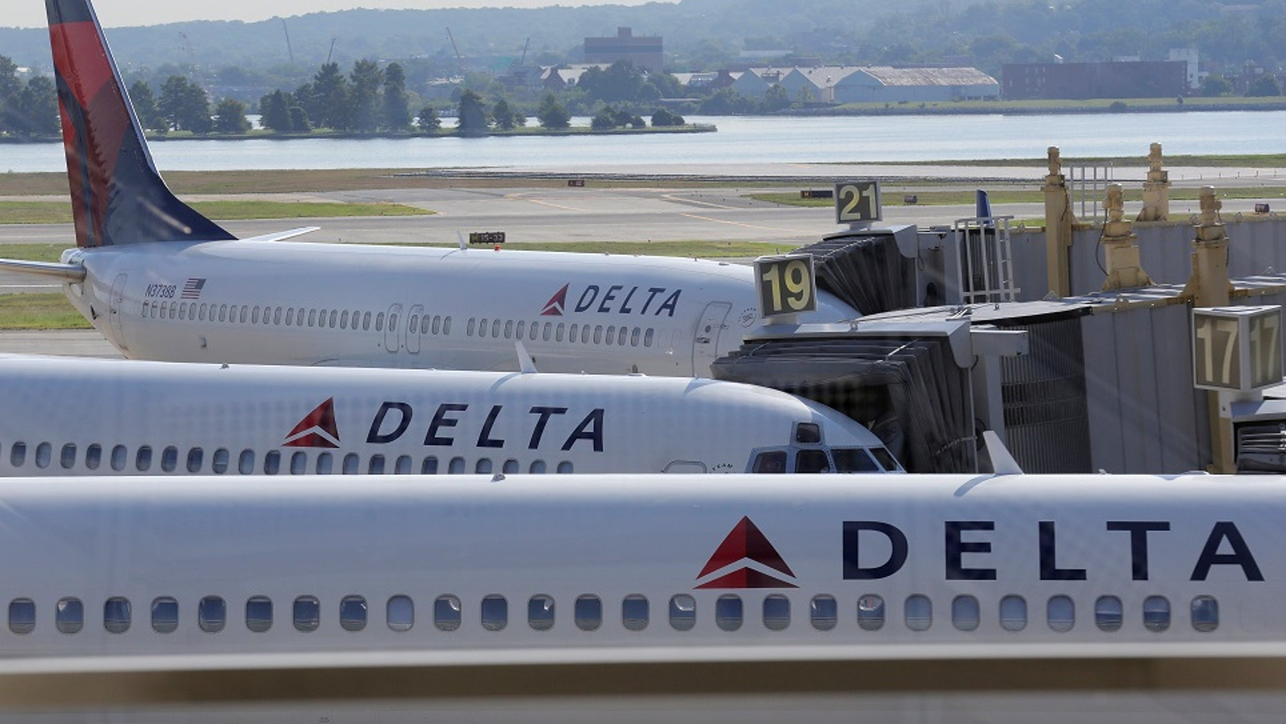 A man and a woman were reportedly busted for engaging in a sex act on a Delta flight to Detroit.