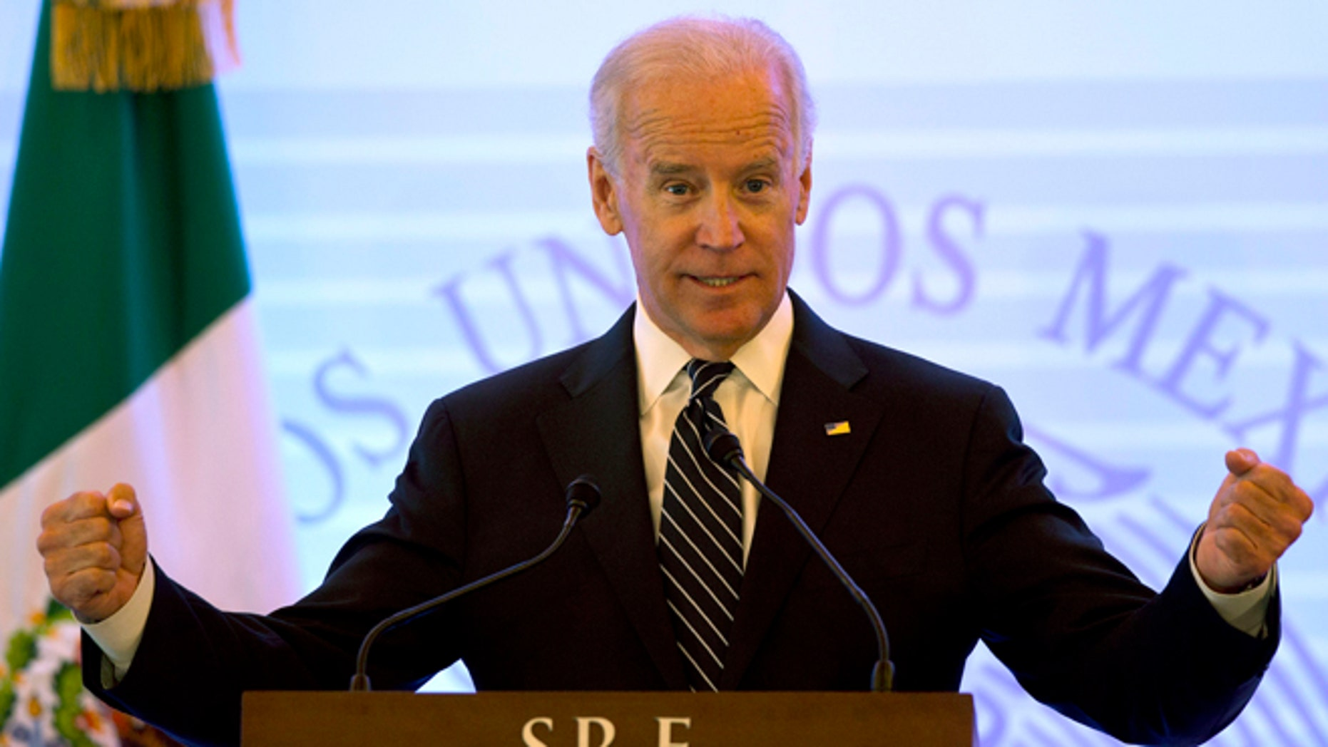 Vice President Biden in Mexico City, on Sept. 20, 2013.