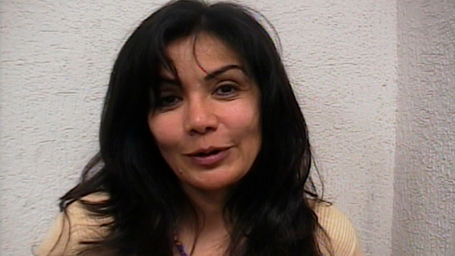 Sandra Avila Beltran, the Queen of the Pacific, after her arrest on Sept. 28, 2007.