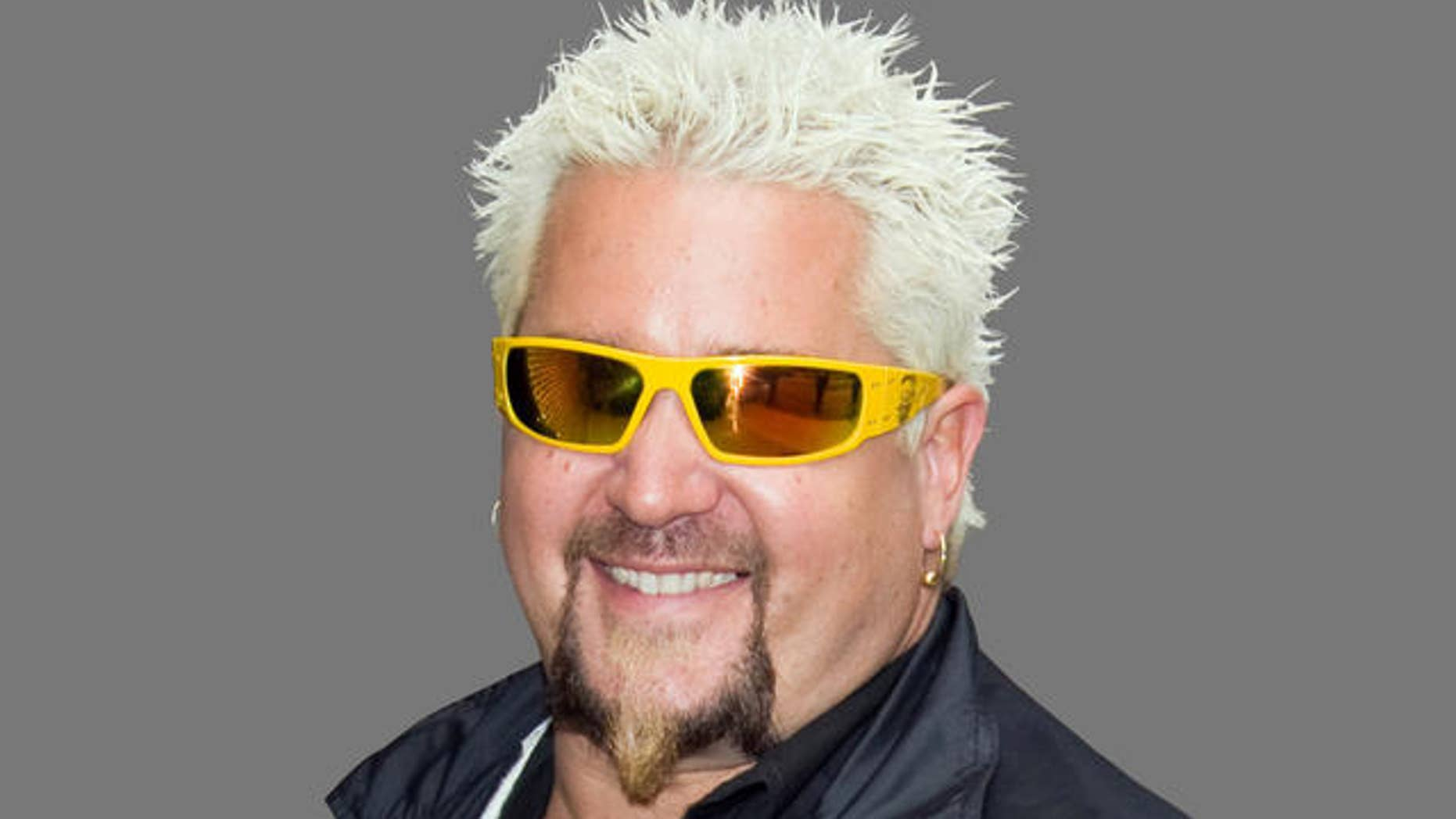 Guy Fieri in New York, April 14, 2009. (AP Photo/Charles Sykes)