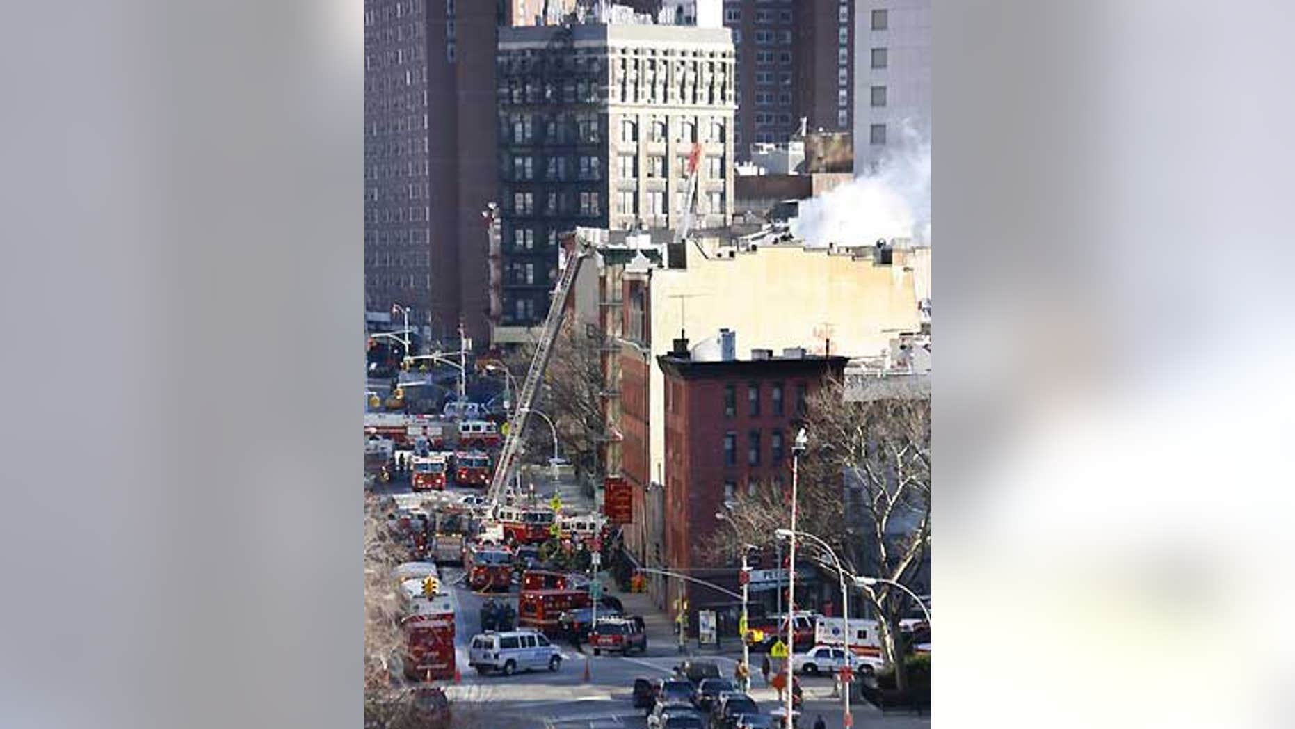 Feb. 24: A blaze breaks out at an apartment in New York City's Chinatown section, leaving 1 dead and dozens injured.
