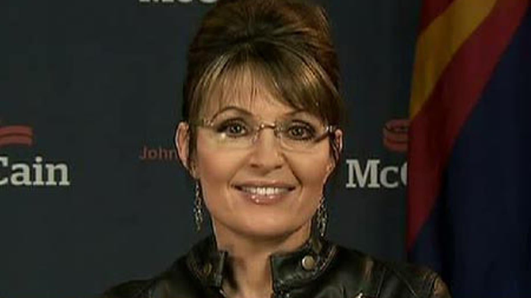 Former Gov. Sarah Palin