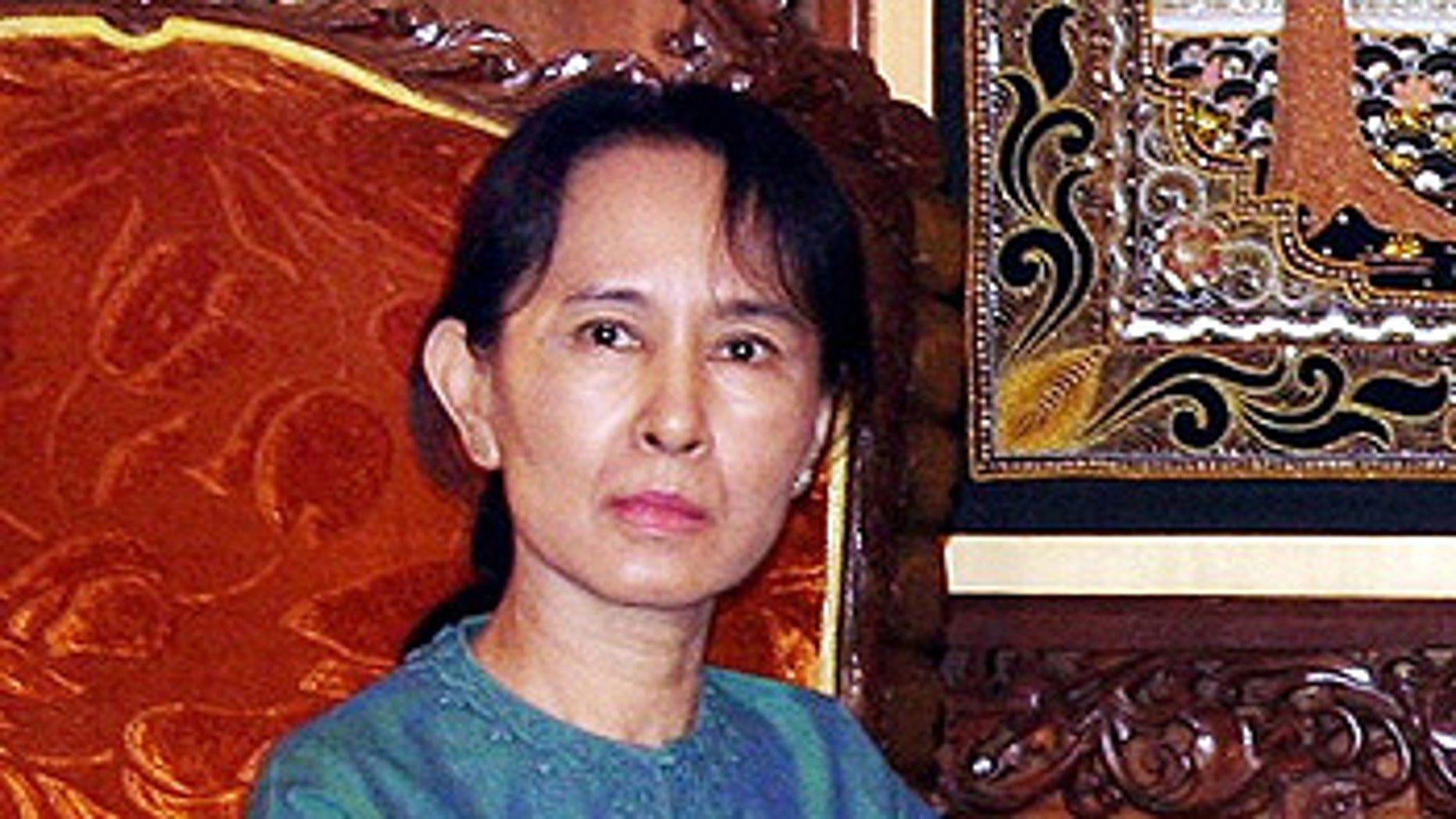 Jan. 30, 2008: Burma's pro-democracy leader Aung San Suu Kyi is seen in Yangon