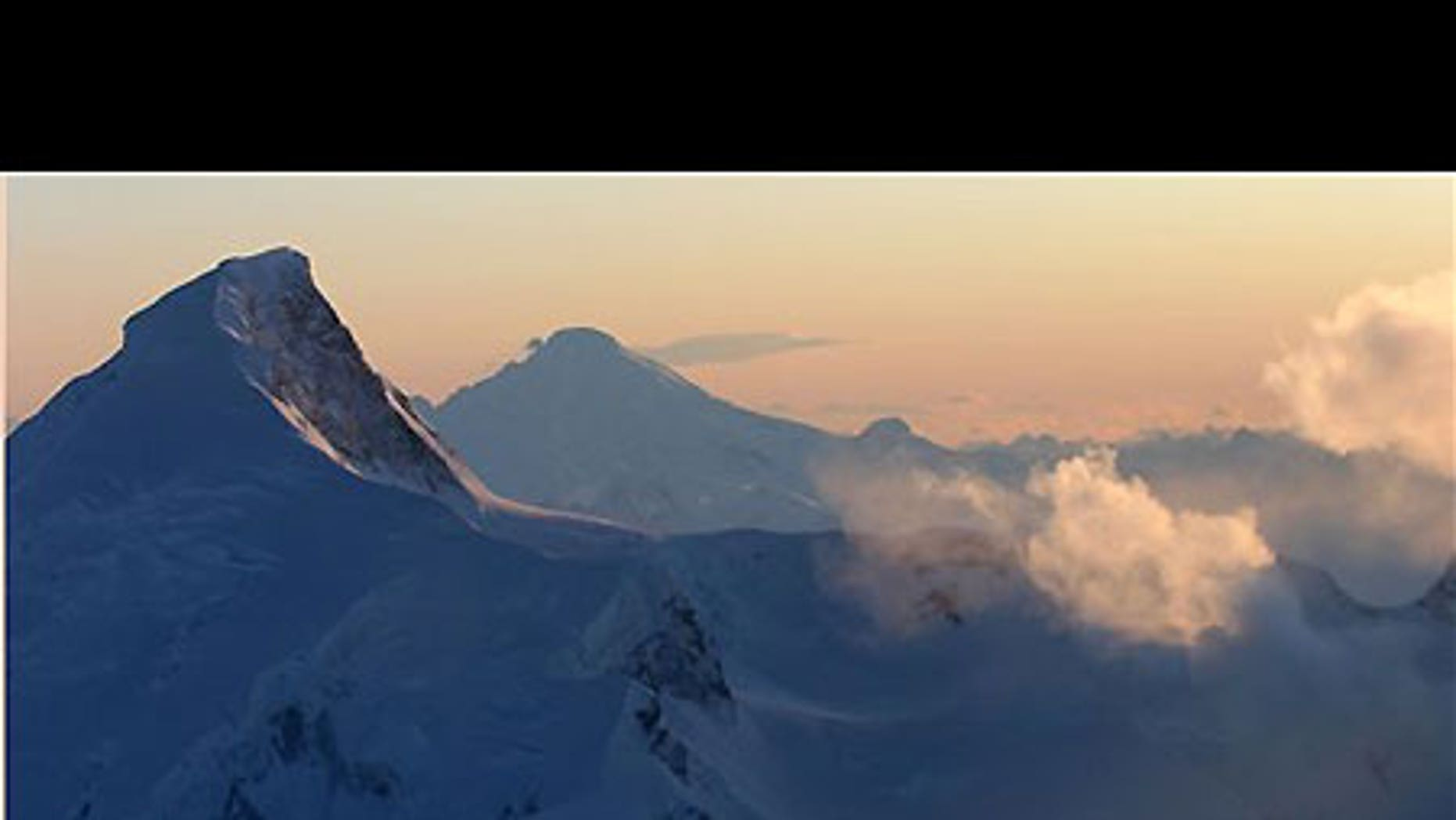 Feb. 1: Mount Redoubt puffs away about 100 miles southwest of Anchorage, Alaska.