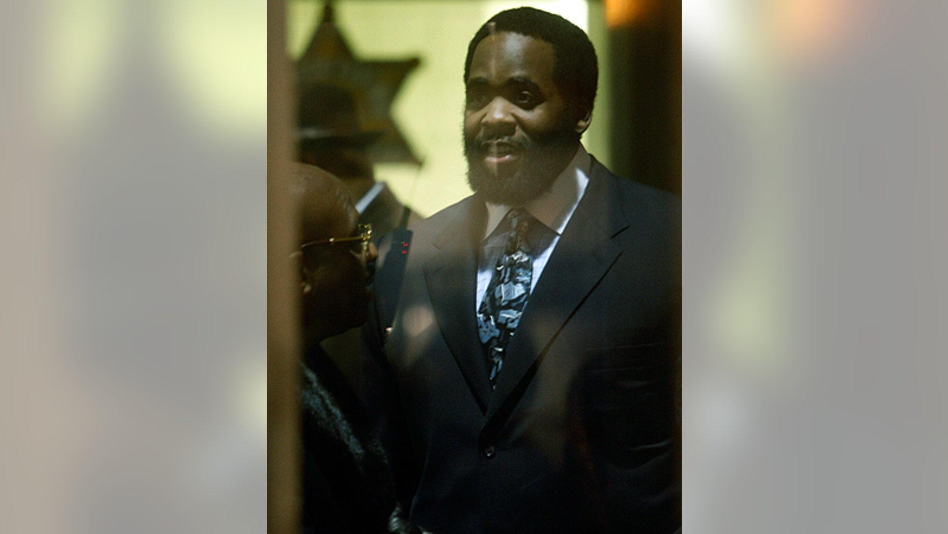Feb. 3: Ex-Detroit Mayor Kwame Kilpatrick is seen in the Wayne County Andrew C. Baird Detention Facility in Detroit.