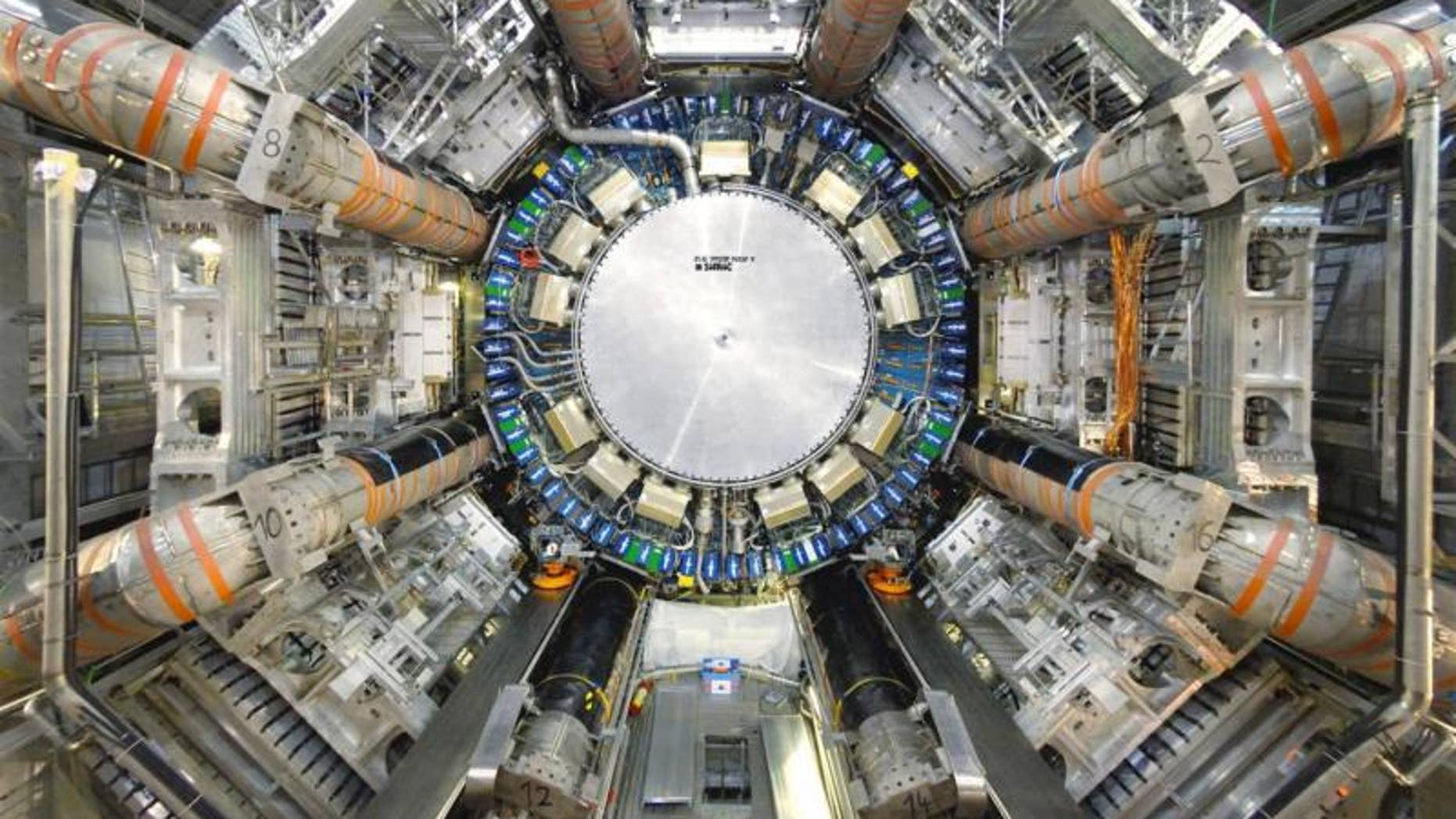 Atlas is one of two general purpose detectors at the Large Hadron Collider. (CERN)
