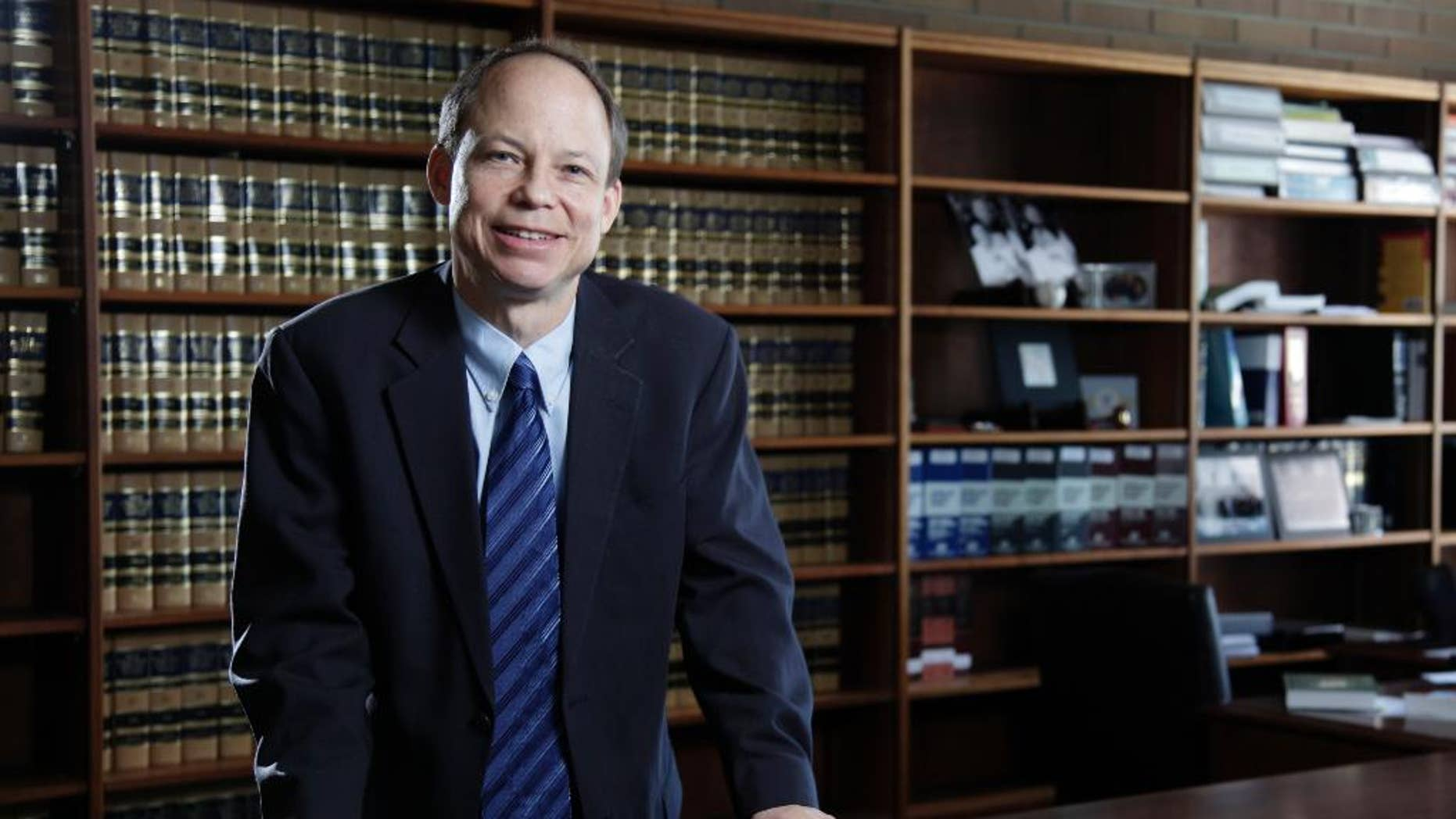 FILE - This June 27, 2011 file photo shows Santa Clara County Superior Court Judge Aaron Persky, who drew criticism for sentencing former Stanford University swimmer Brock Turner to only six months in jail for sexually assaulting an unconscious woman.