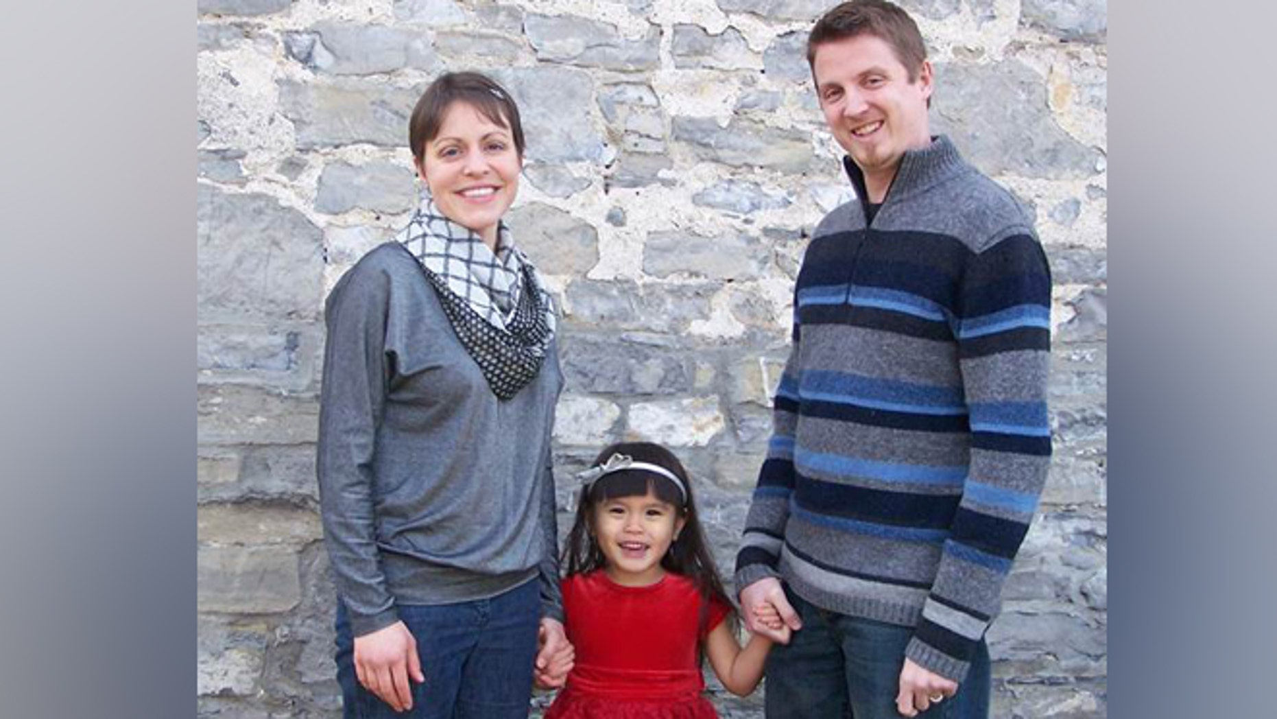Stephanie and Ben Hawkins conceived their daughter using a donor embryo.