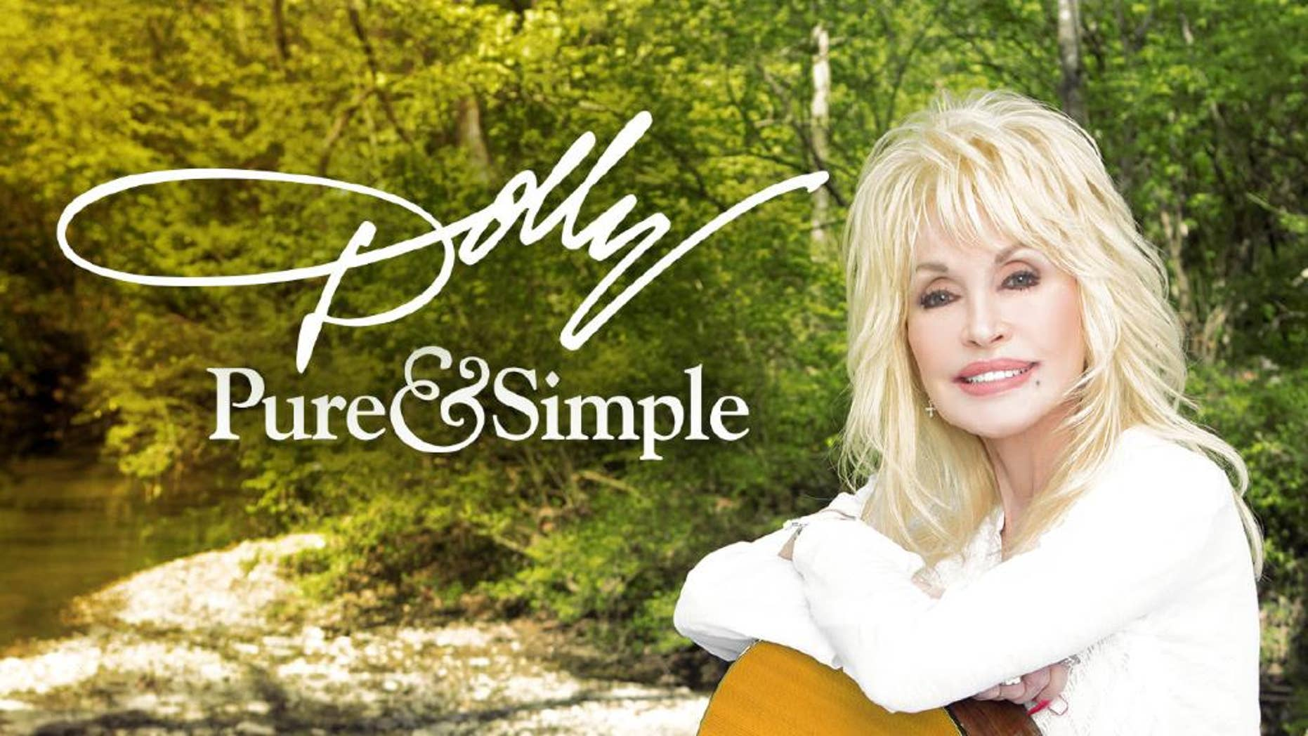 """This CD cover image released by Sony Music Nashville shows """"Pure & Simple,"""" the latest release by Dolly Parton. (Sony Music Nashville via AP)"""