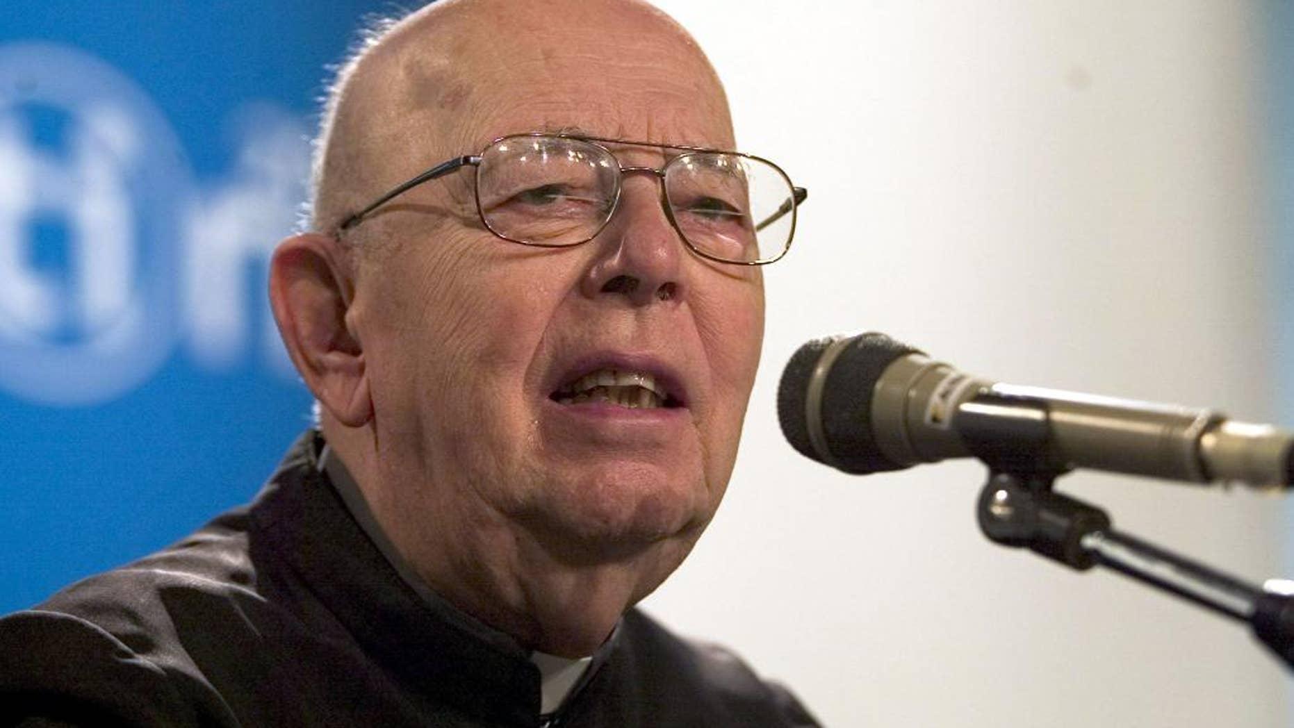 Rev. Gabriele Amorth in Rimini, Italy, in 2006.