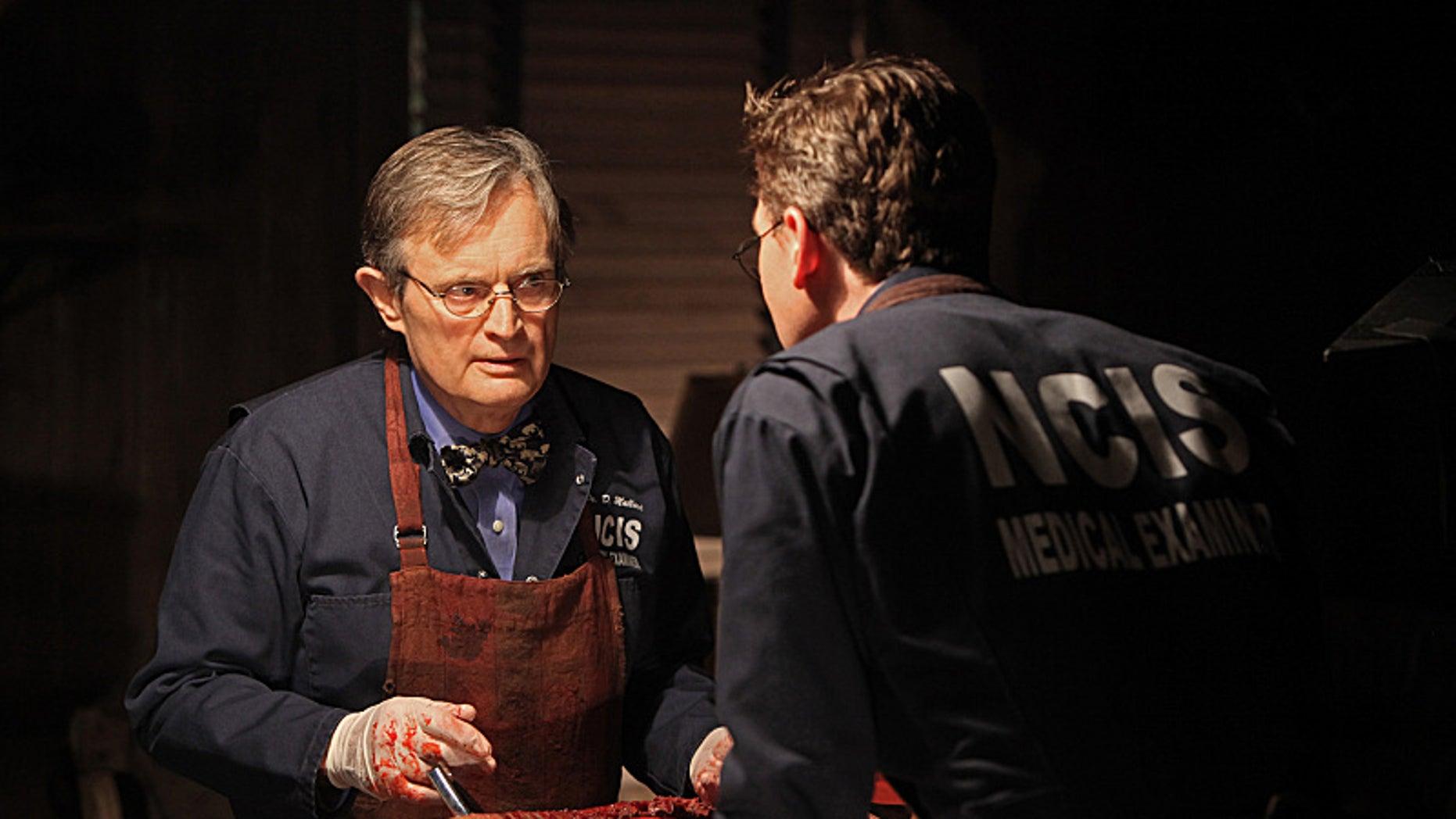 David McCallum as Ducky on 'NCIS' (CBS)