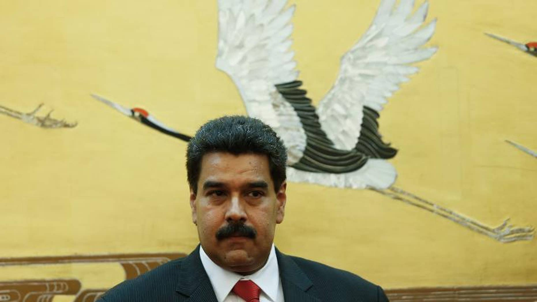 """Venezuelan President Nicolas Maduro on Wednesday said he had scrapped his plan to take part in the UN General Assembly in New York to """"safeguard his physical integrity"""" after unspecified threats to his """"life."""""""
