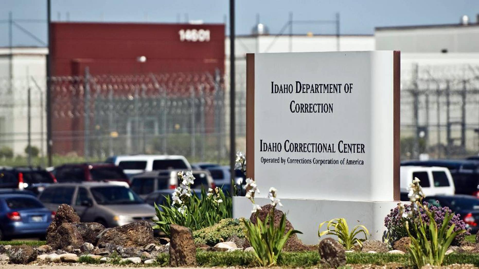 FILE - This June 15, 2010 file photo shows the Idaho Correctional Center south of Boise, Idaho. A handful of U.S. prison leaders like Idaho Department of Correction Director Kevin Kempf are trying to incorporate European principals, where correctional officers strive to make the prison experience as close to normal life as possible, into prisons back home. They hope the changes will lead to lower recidivism rates, happier staffers and inmates who are better prepared to be good neighbors once they are released. (AP Photo/Charlie Litchfield, File)