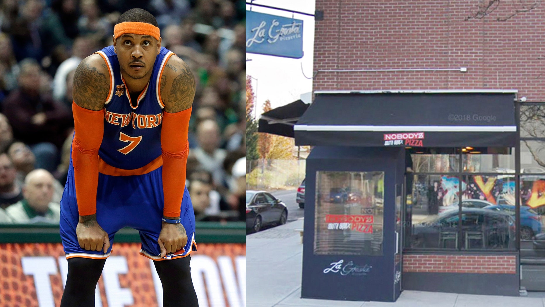 The basketball pro has big big plans to roll out a chain of sports bars and pizza joints nationwide.