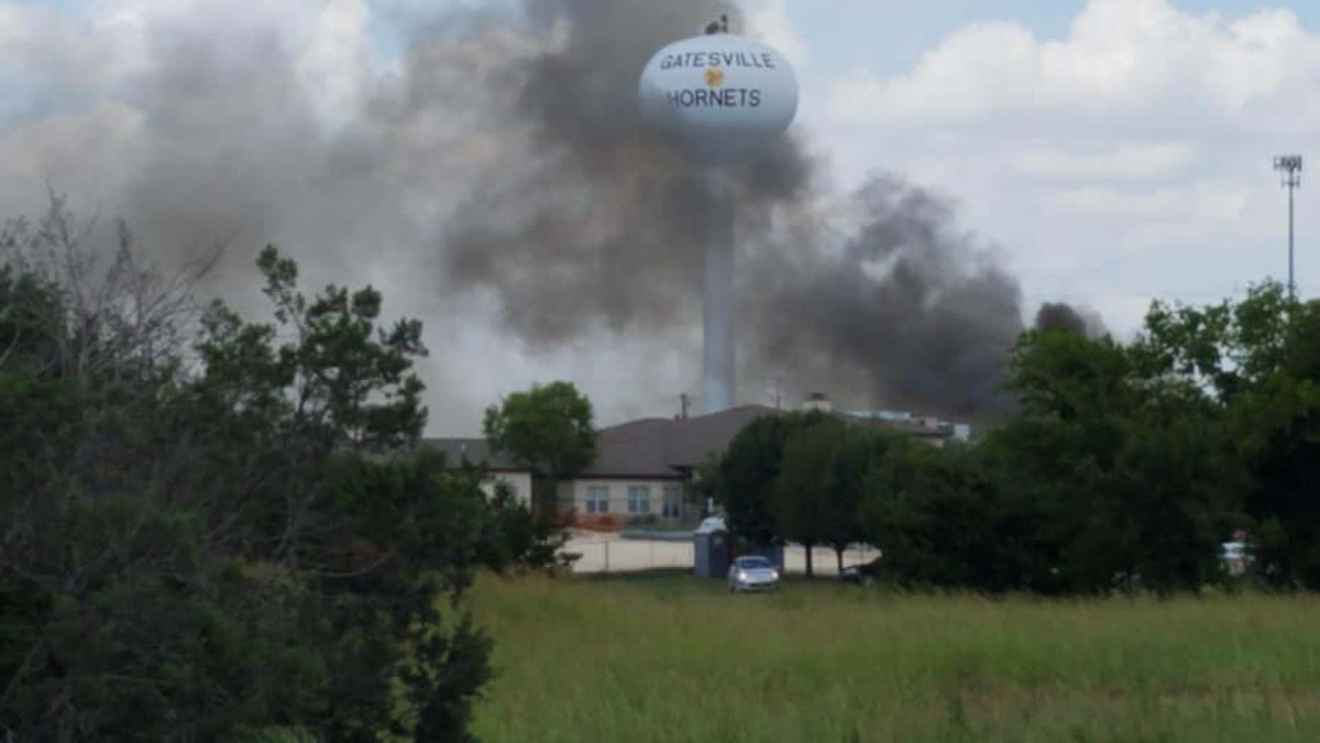 An explosion and a partial building collapse were reported at Coryell Memorial Healthcare System in Gatesville, Texas, on Tuesday afternoon.