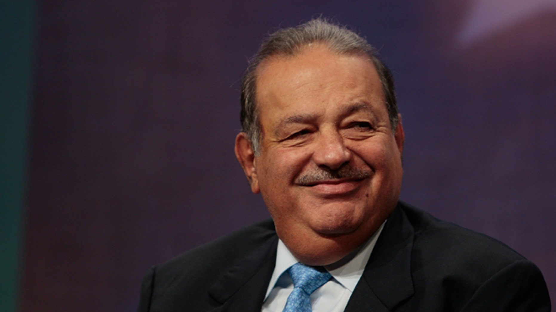Mexican businessman Carlos Slim Helu, one of the world's richest men.