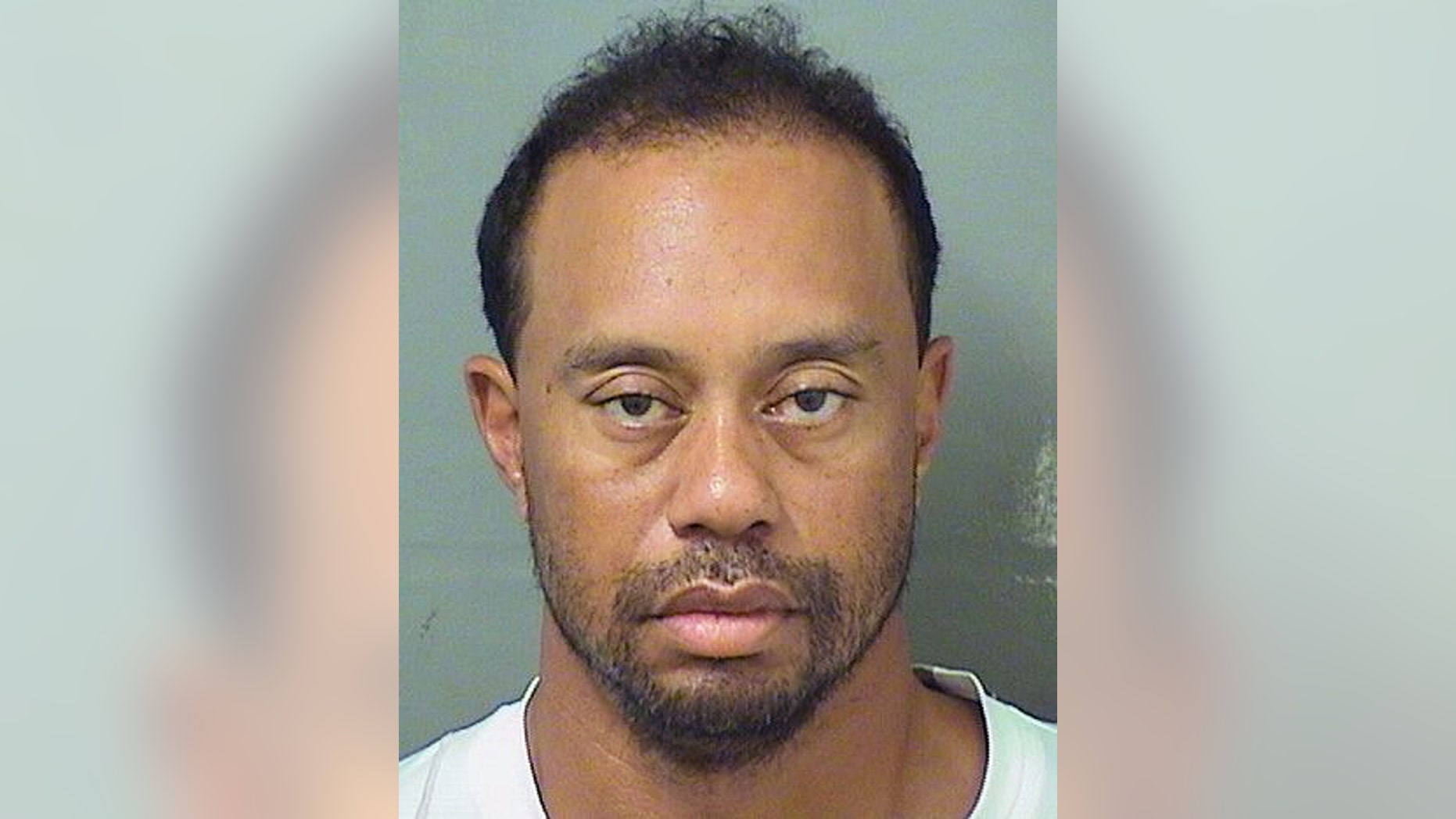 Tiger Woods after his arrest last May.