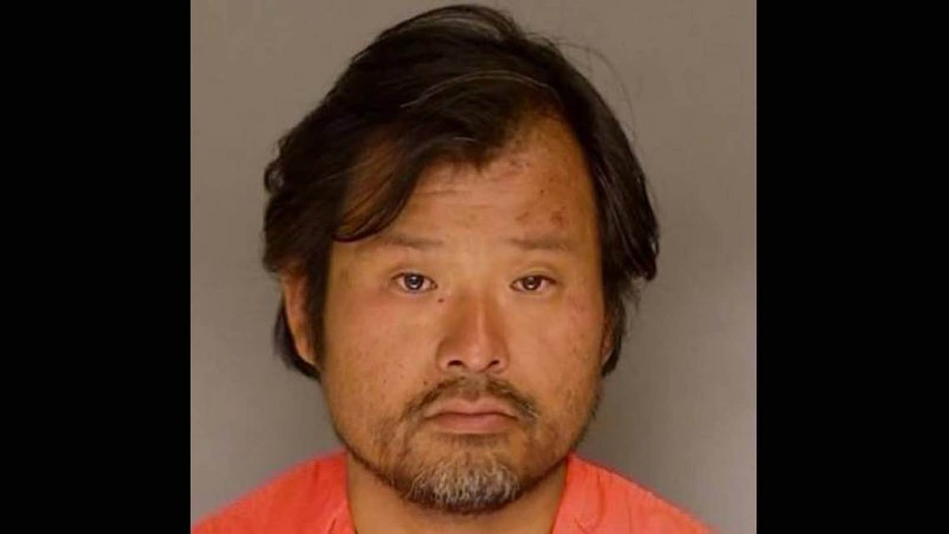 Daisuke Muro, 40, was charged with attempted sexual assault and attacking a police officer, authorities said.