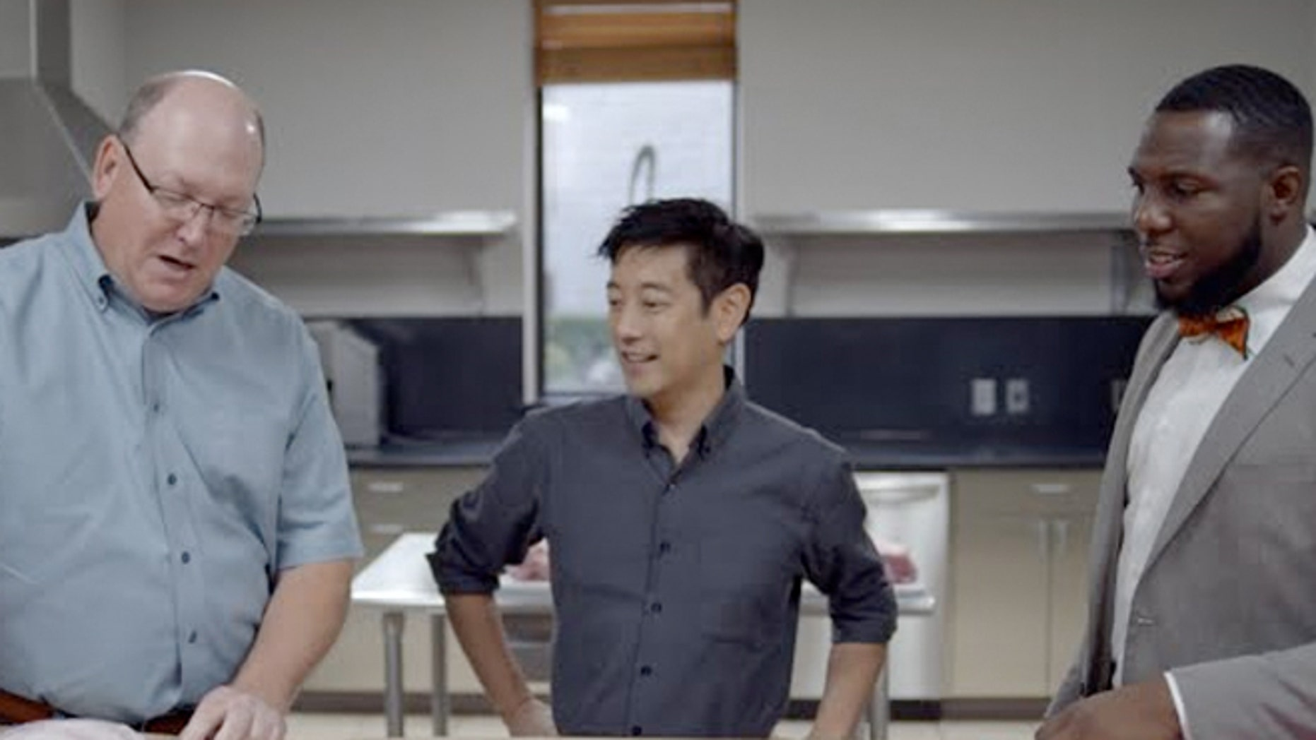 Grant Imahara and McRib skeptic are trying to debunk myths about McDonald's elusive McRib.