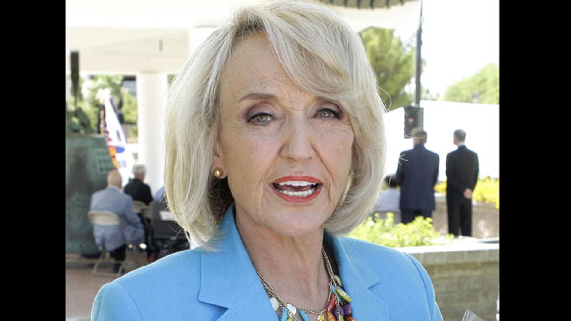 June 25: Arizona Gov. Jan Brewer attends a ceremony commemorating the 60th Anniversary of the start of the Korean War in Phoenix.
