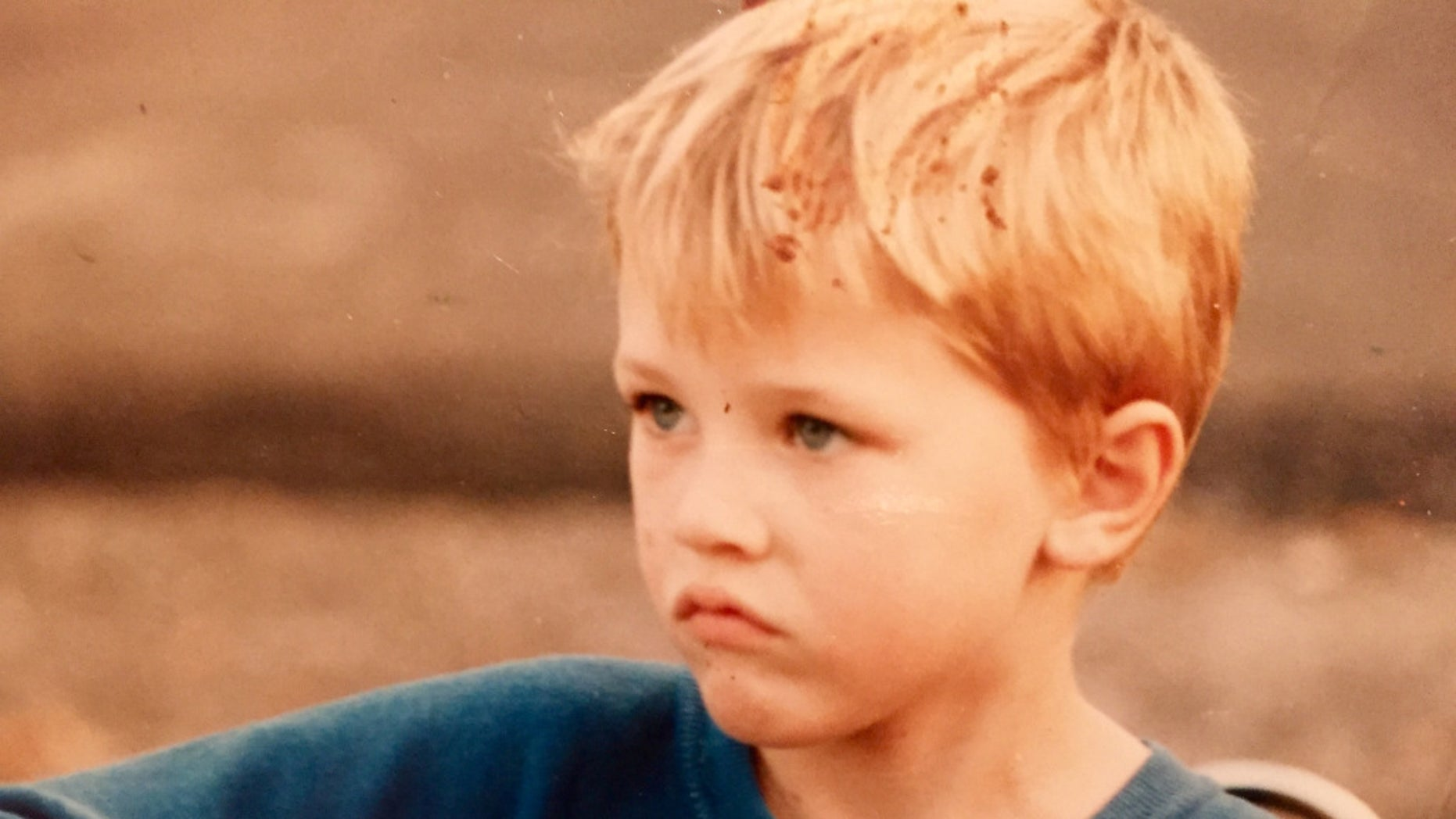 Joshua Rogers as a young boy.